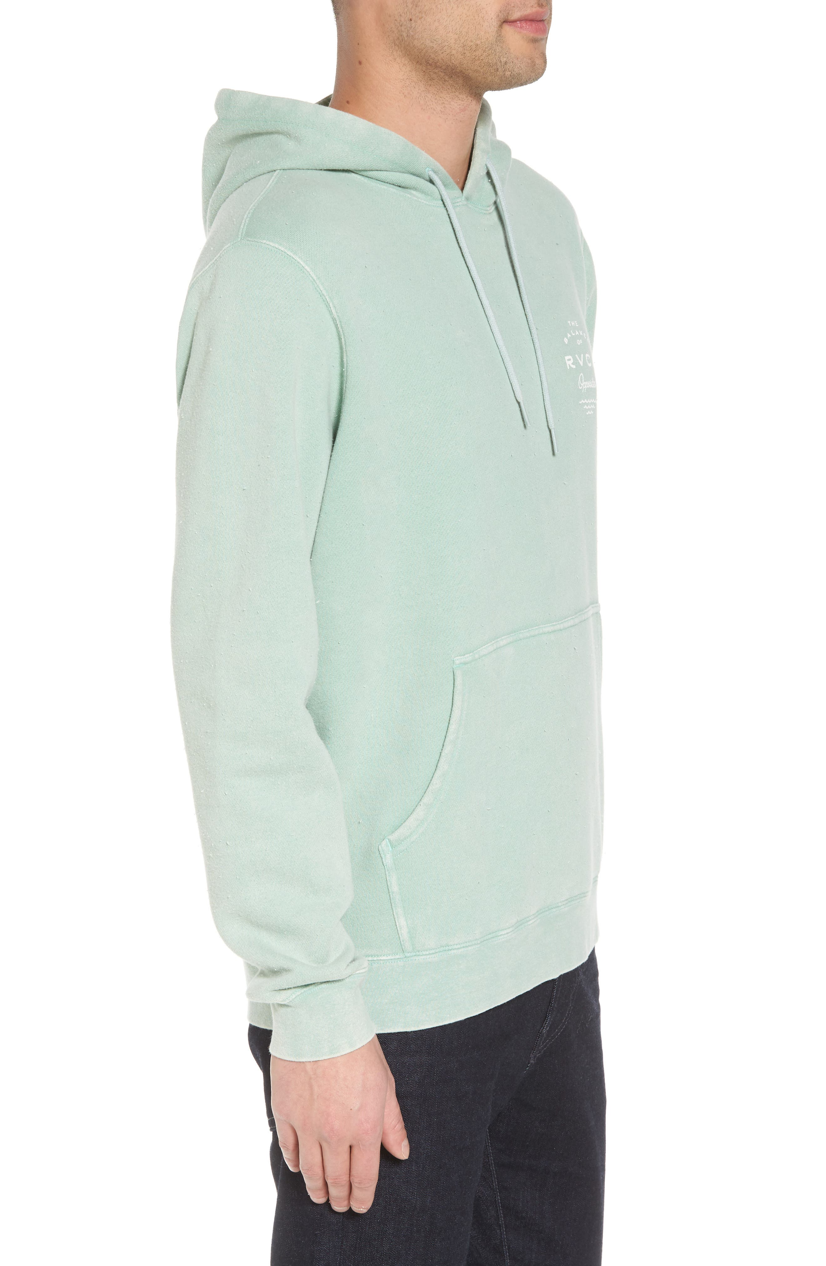 Stress Hoodie,                             Alternate thumbnail 3, color,                             Green Haze