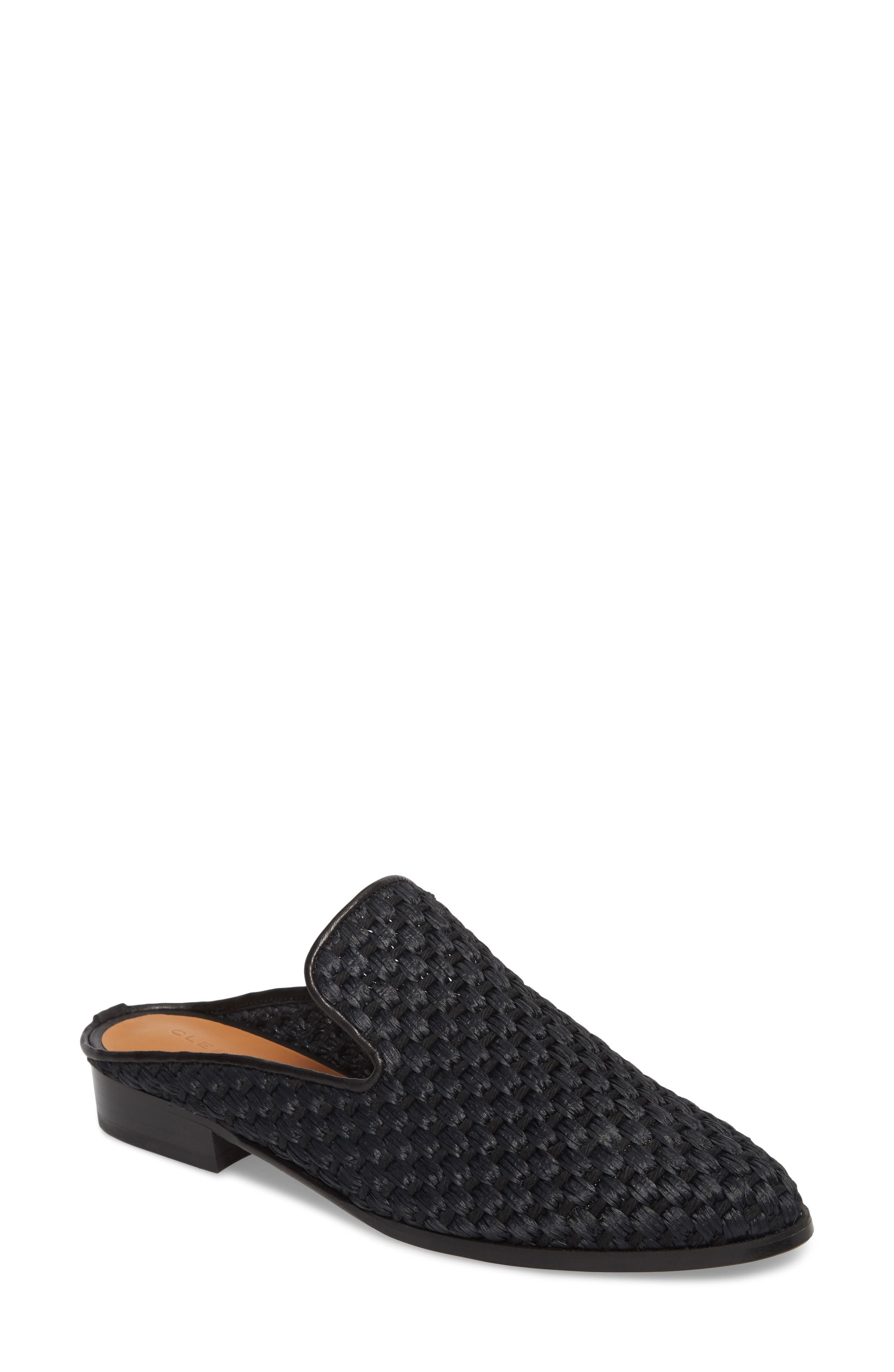 Aliceop Woven Loafer Mule,                         Main,                         color, Black