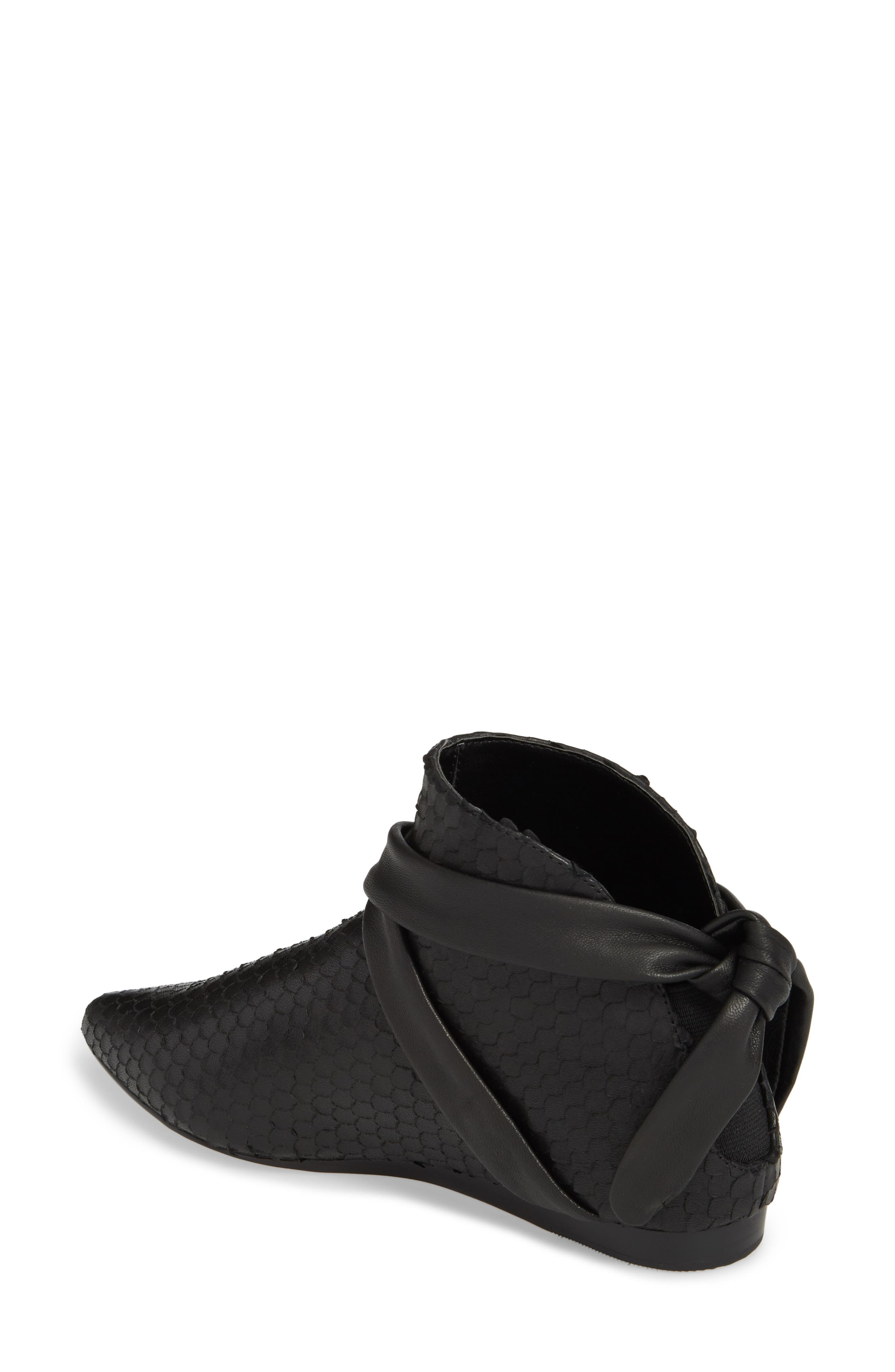 M4D3 Derby Bootie,                             Alternate thumbnail 2, color,                             Black Leather