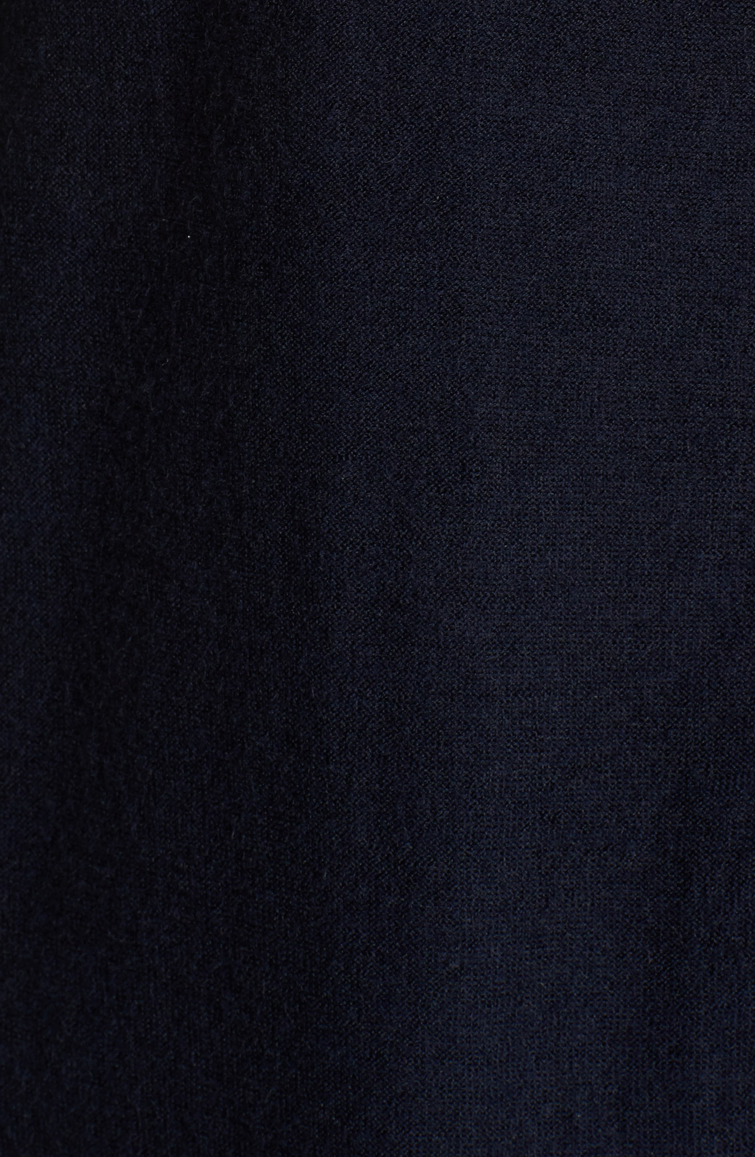 Button Front Cardigan,                             Alternate thumbnail 5, color,                             Navy Night