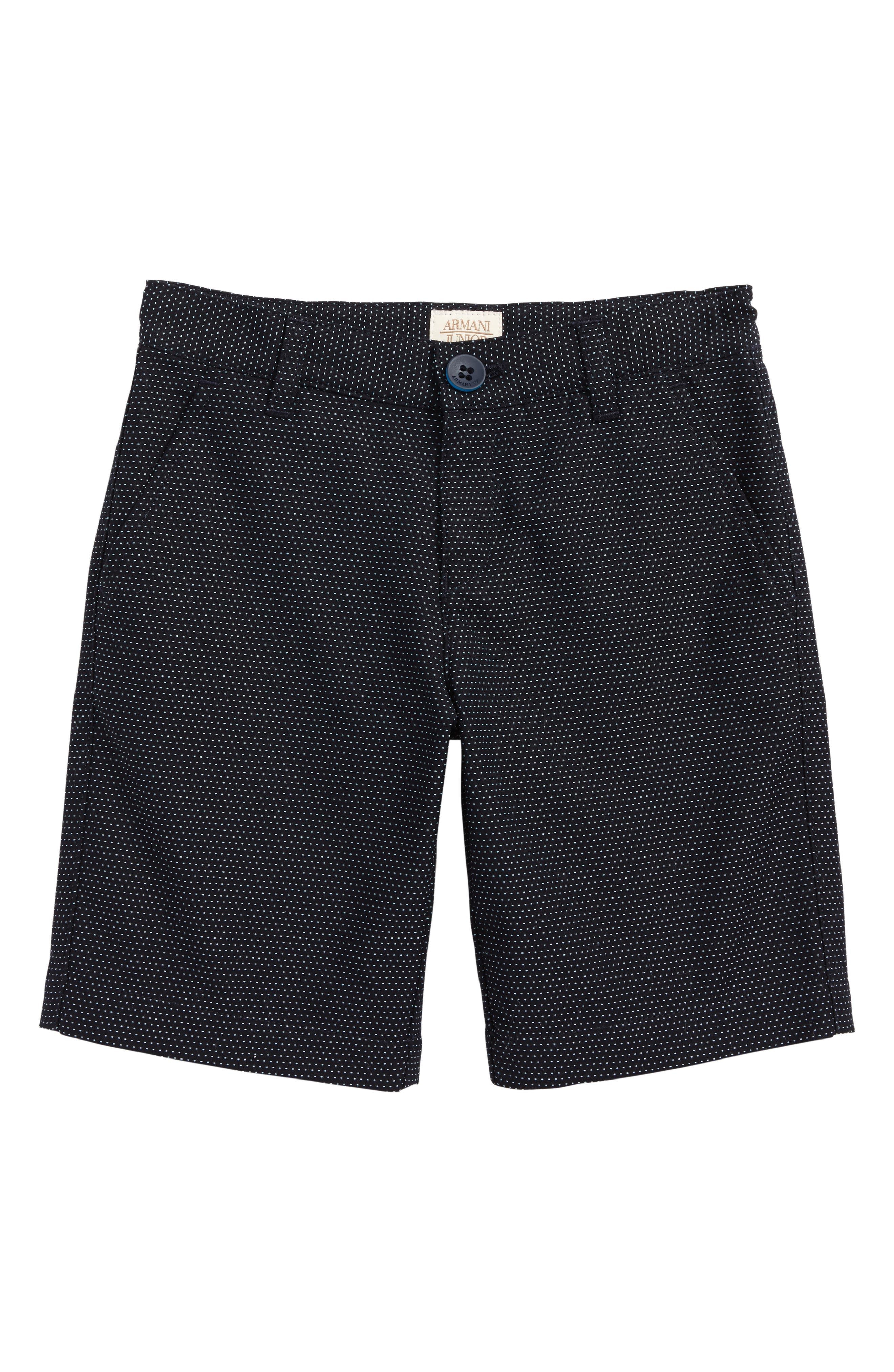 Armani Junior Microdot Shorts (Little Boys & Big Boys)