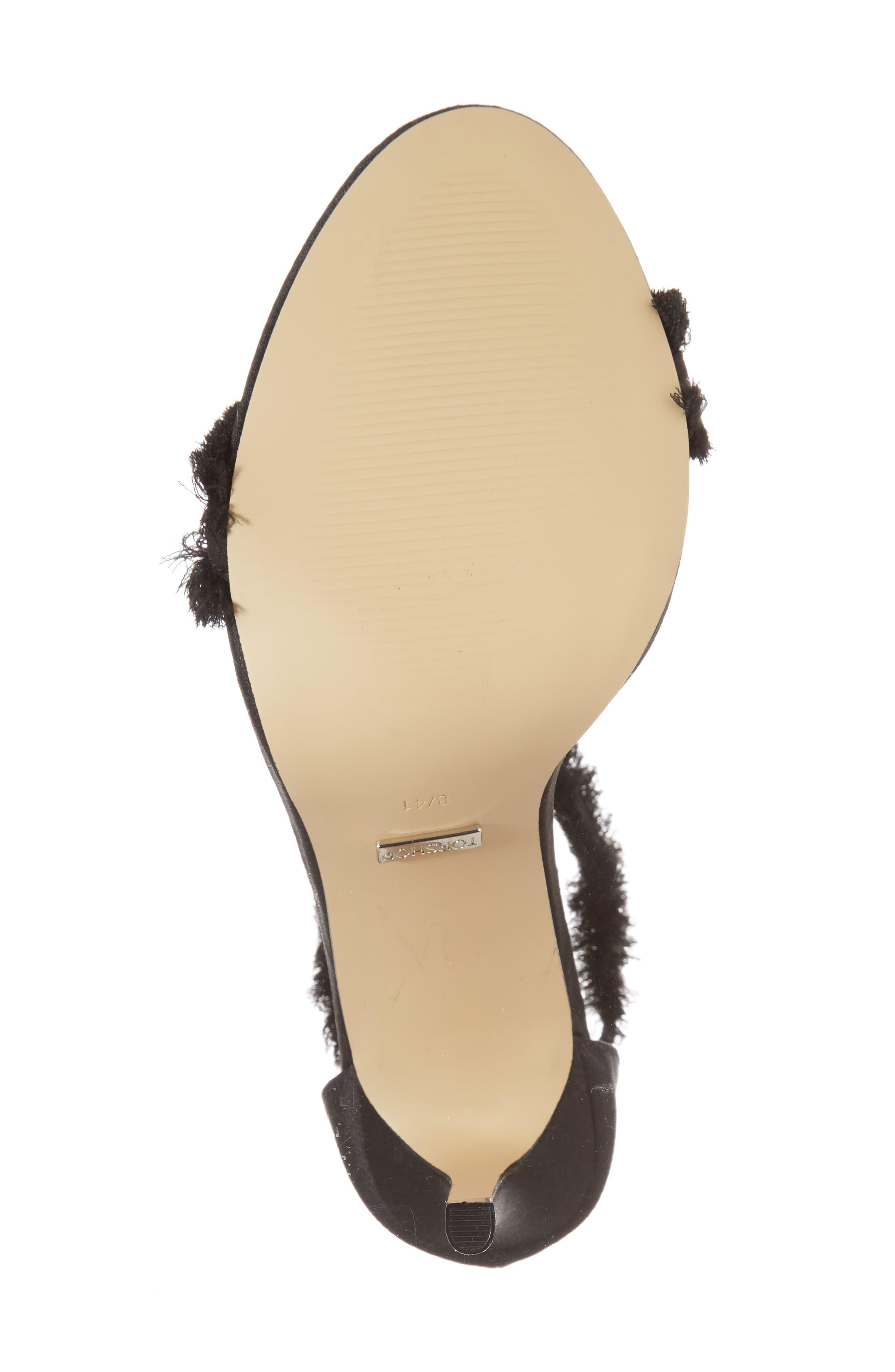 Alternate Image 5  - Topshop Riley Fringe Sandal (Women)
