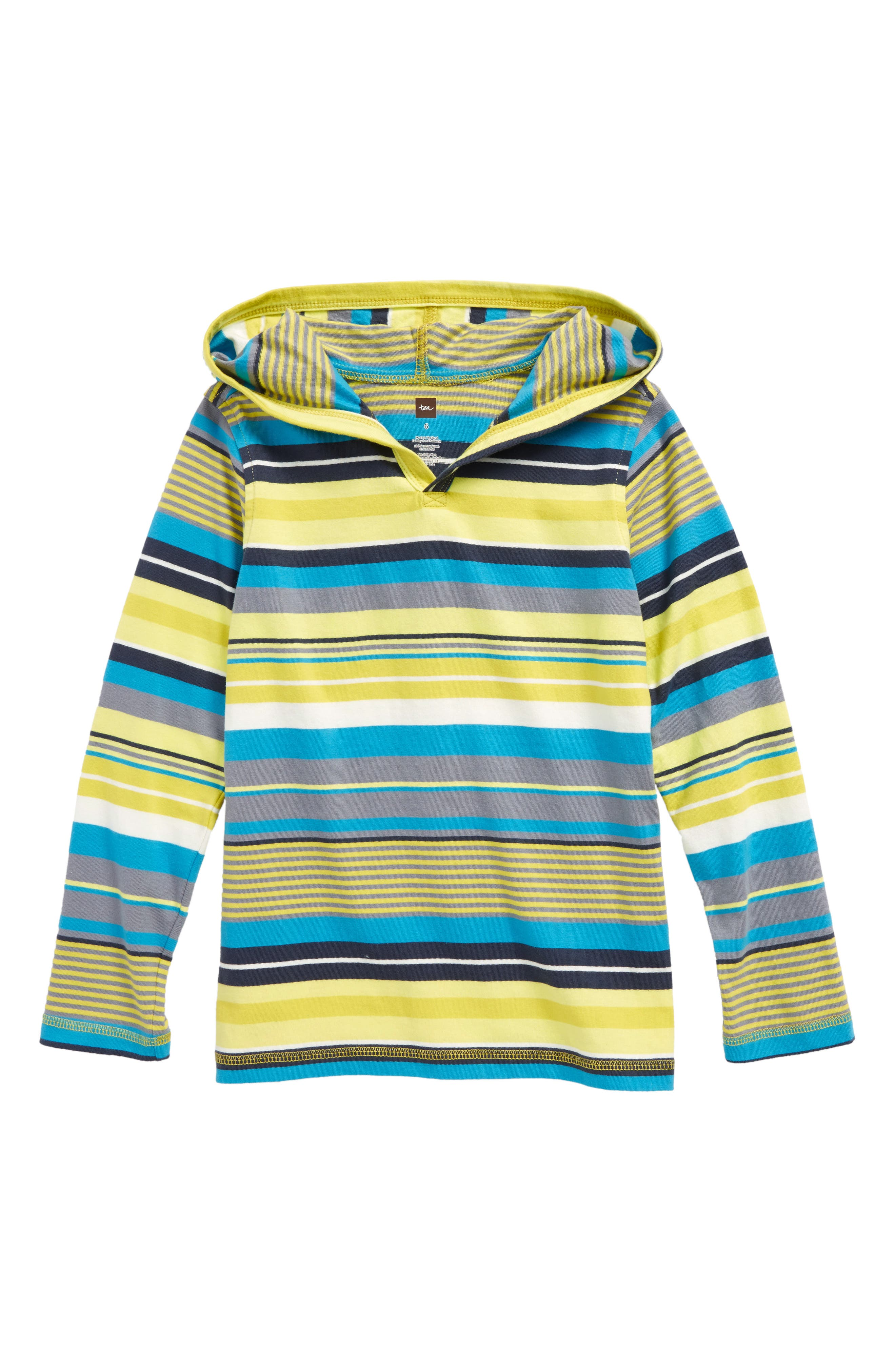 Main Image - Tea Collection Dawn Patrol - Happy Hoodie (Toddler Boys & Little Boys)