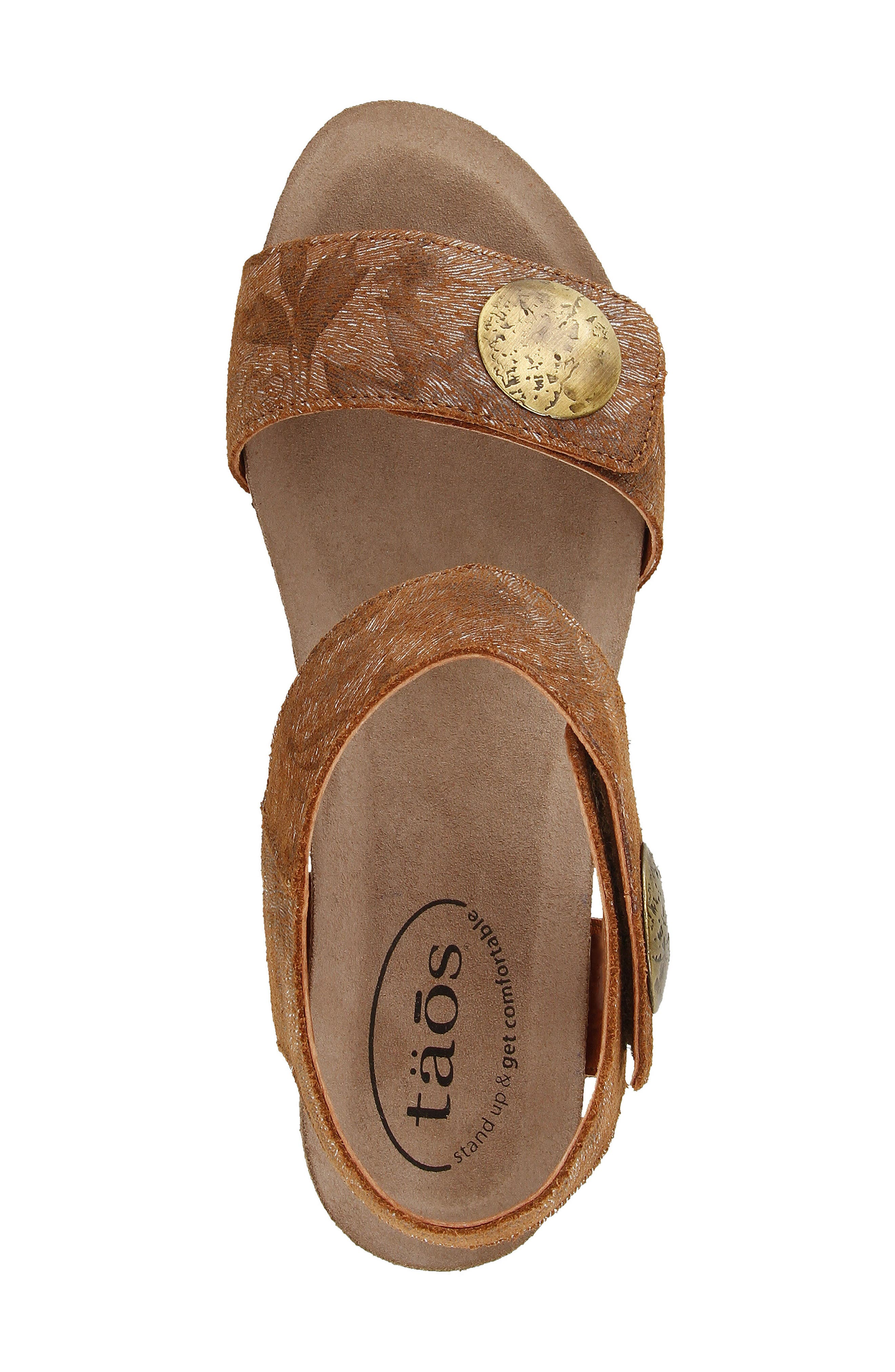 Alternate Image 4  - Taos 'Carousel 2' Wedge Sandal (Women)