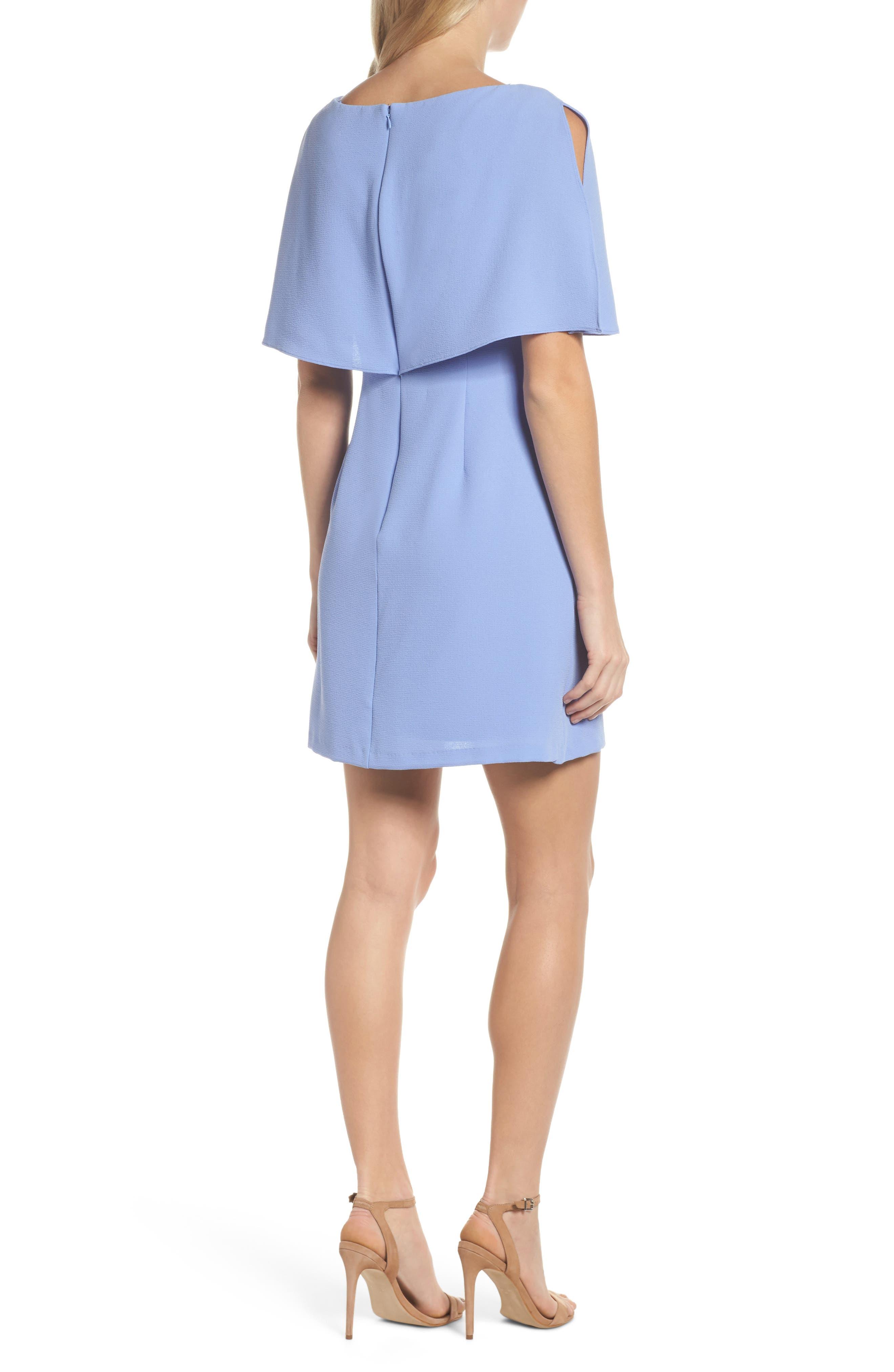 Alternate Image 2  - Adrianna Papell Split Sleeve Sheath Dress