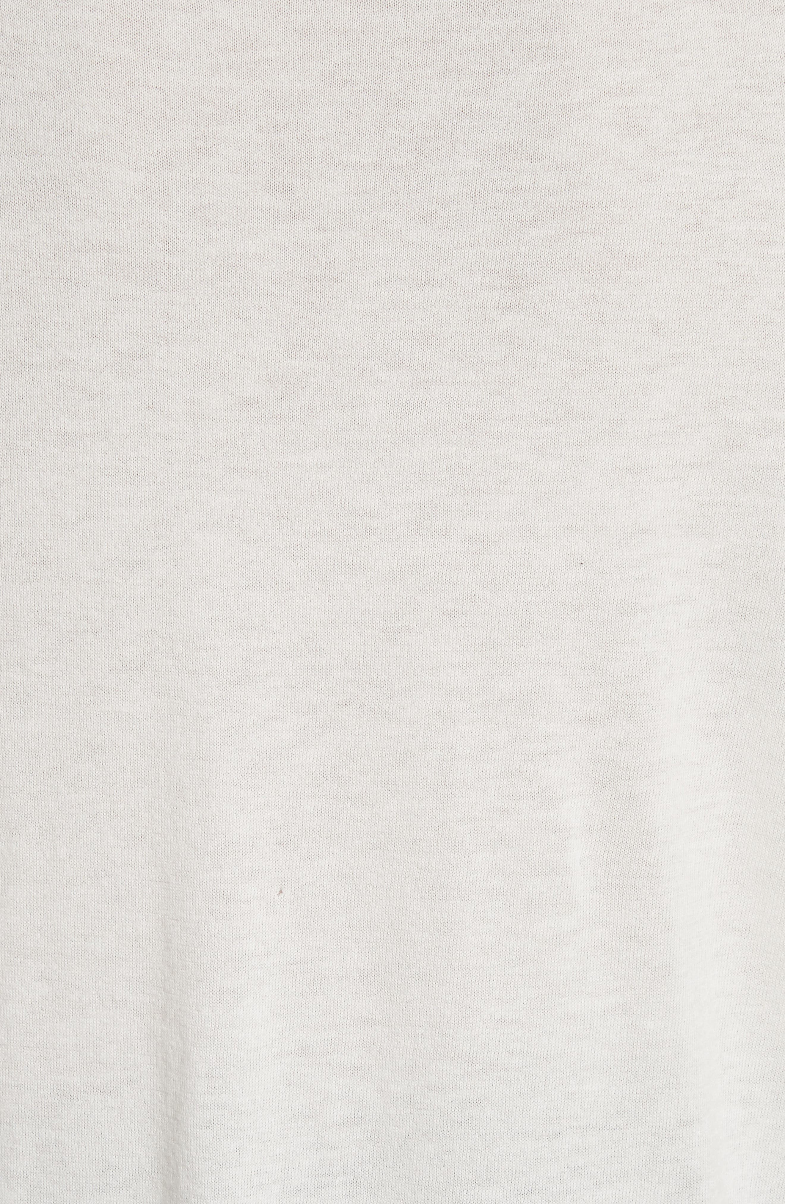 Alternate Image 5  - IRO Pao Lace Trim Destroyed Sweater