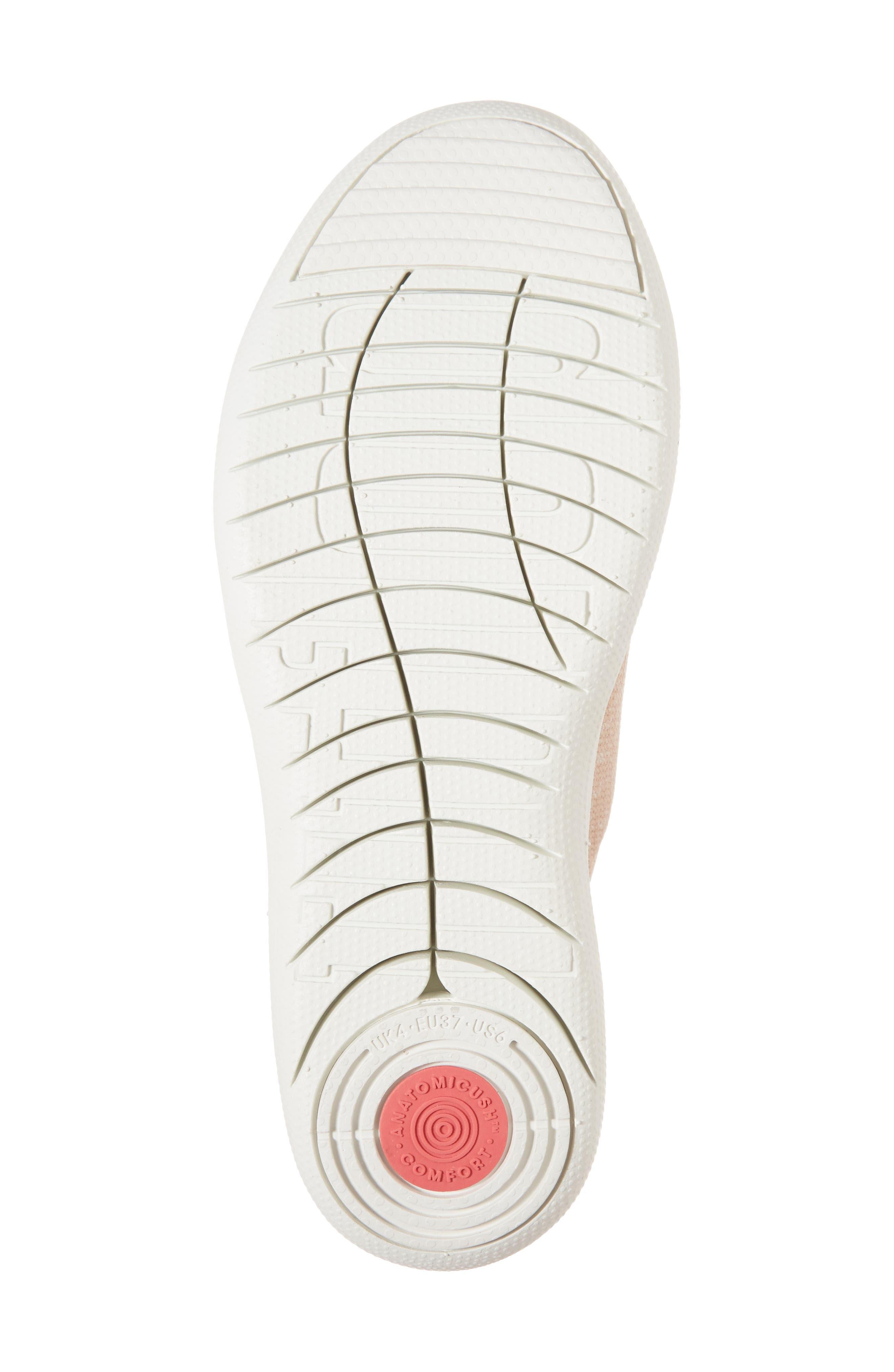 Alternate Image 6  - FitFlop F-Sporty Uberknit™ Sneaker (Women)