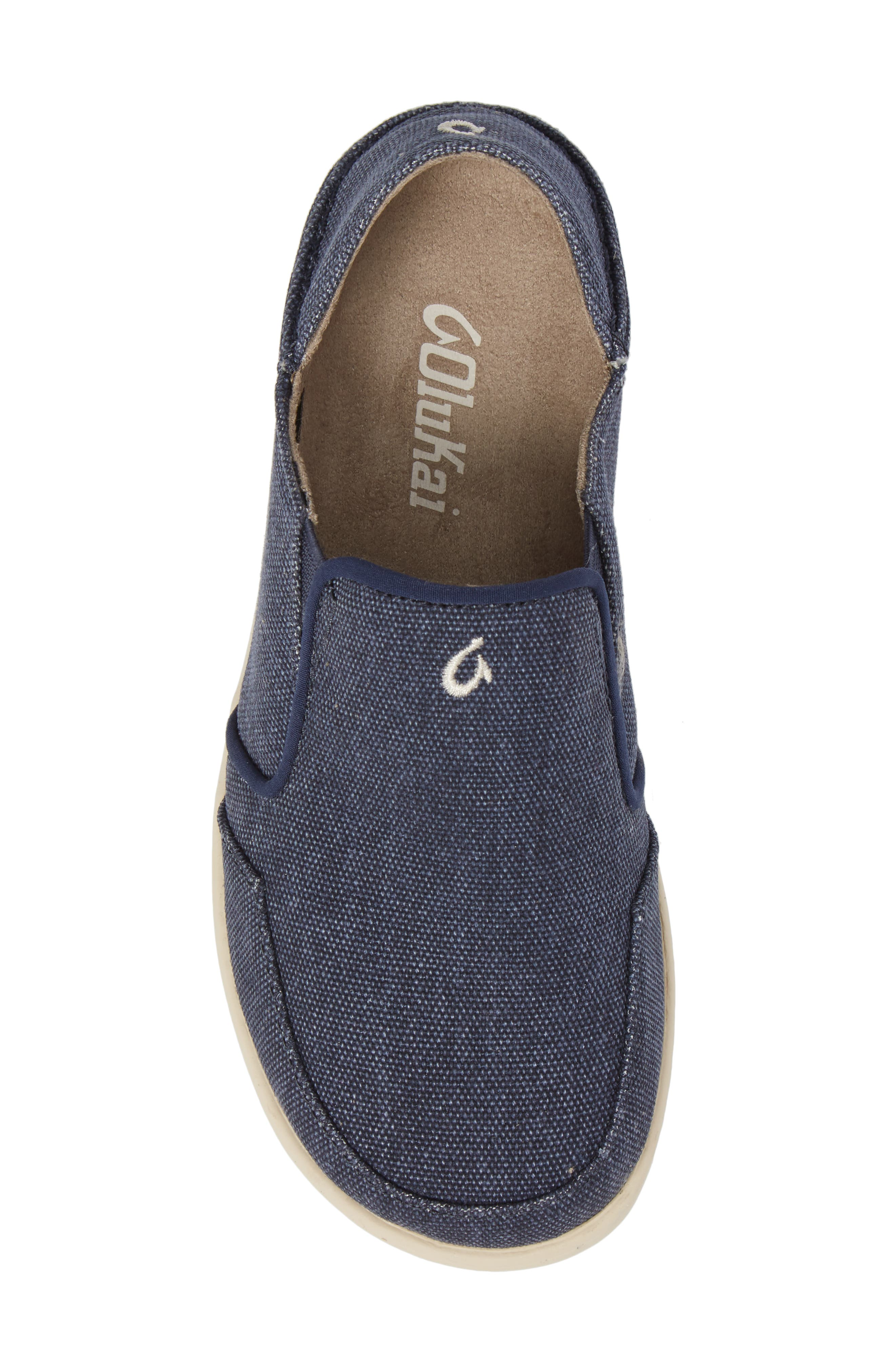 Nohea Lole Collapsible Slip-On,                             Alternate thumbnail 5, color,                             Trench Blue