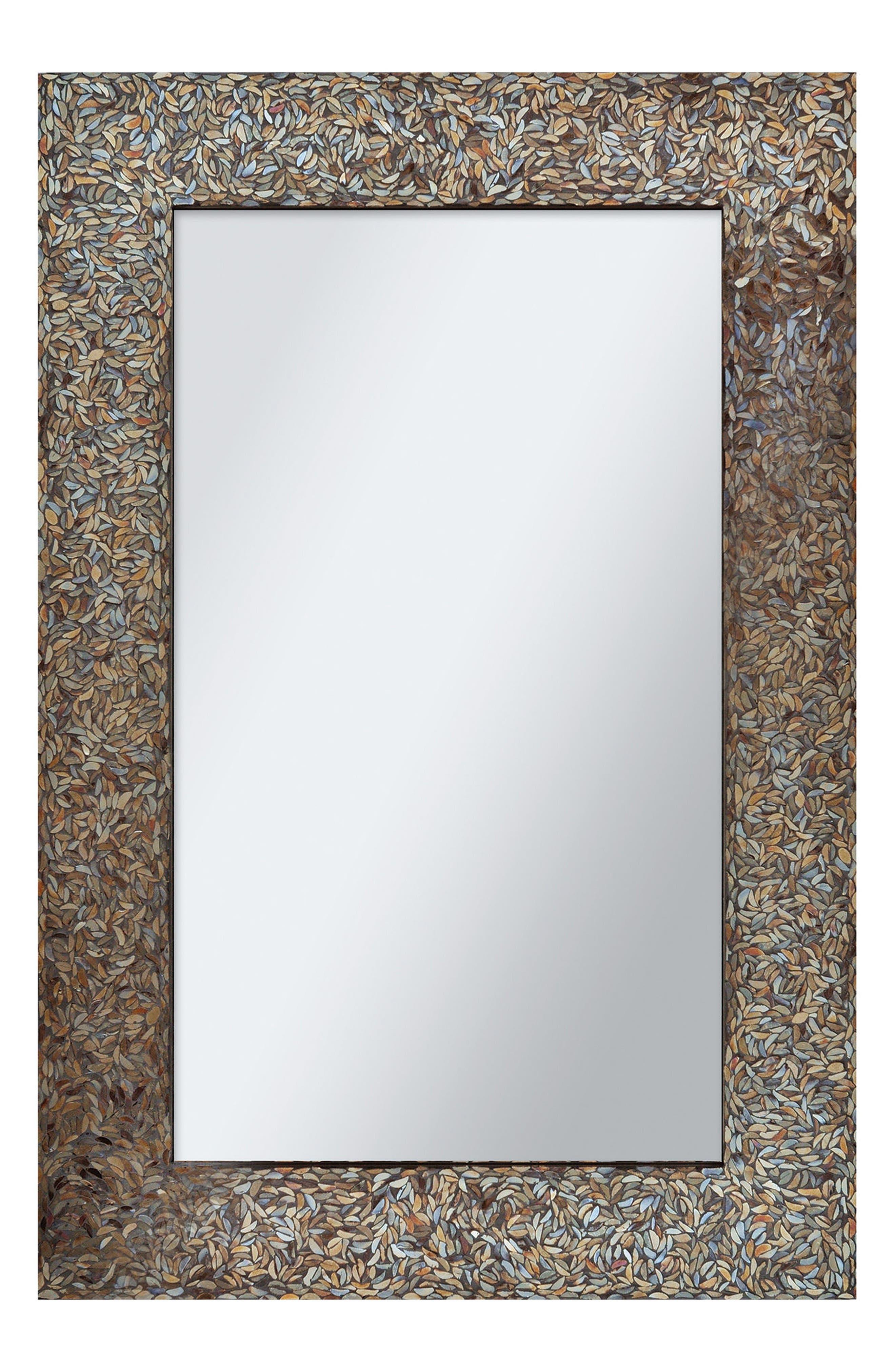 Amber Mirror,                         Main,                         color, Black Mosaic