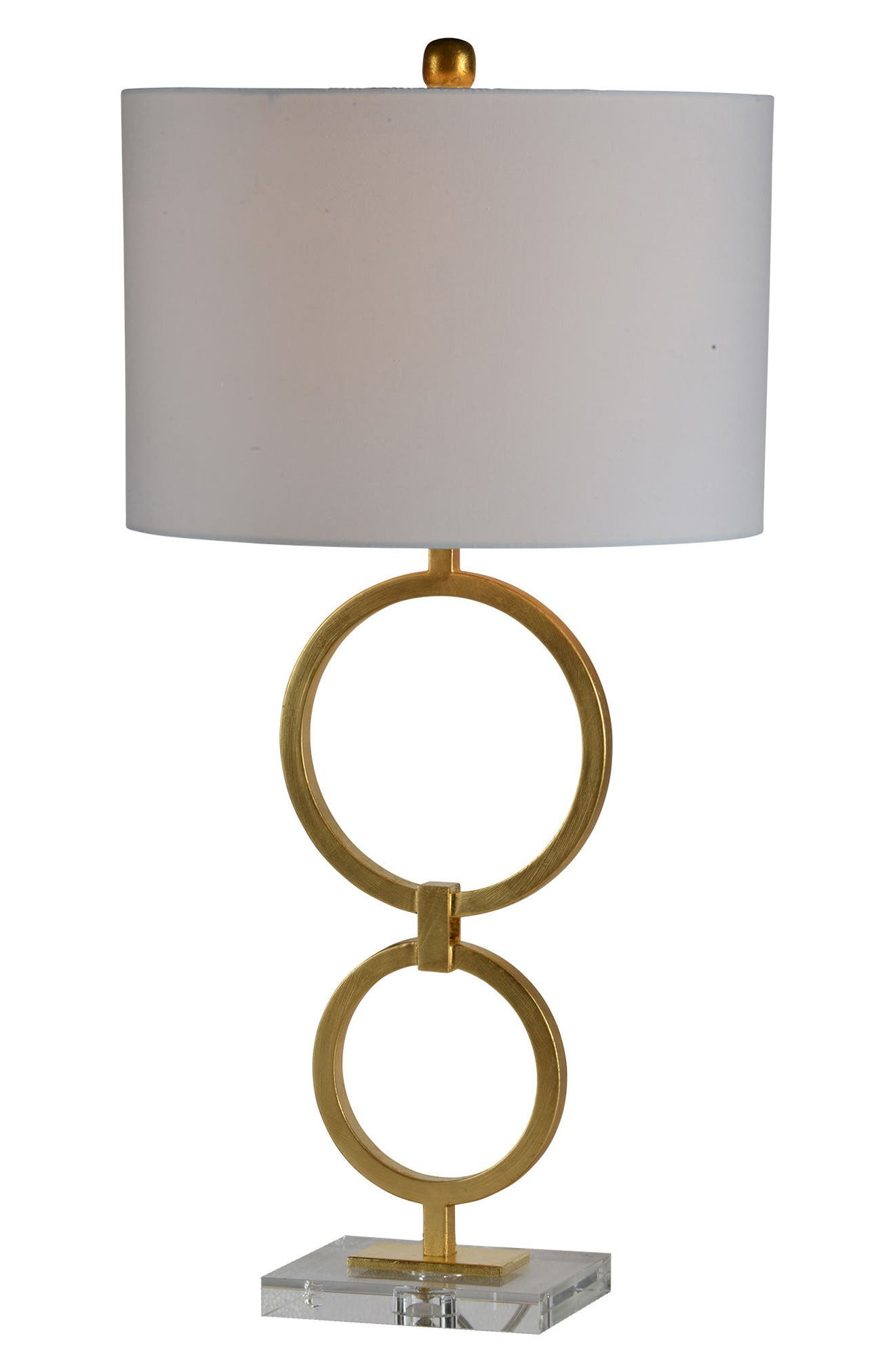 Stack Table Lamp,                             Main thumbnail 1, color,                             Gold Leaf