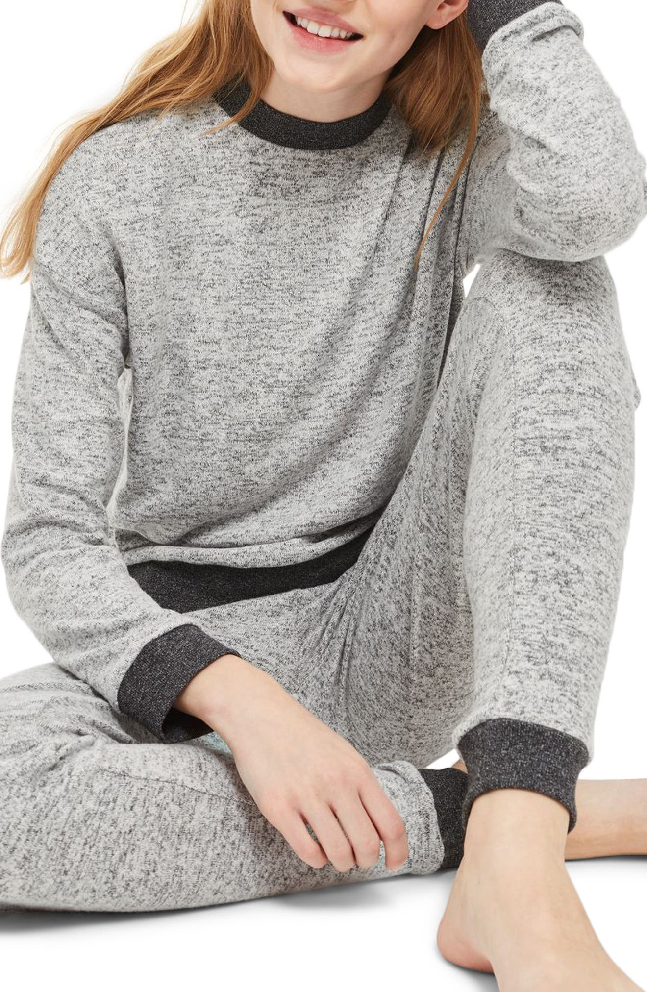 Alternate Image 1 Selected - Topshop Soft Sweatshirt