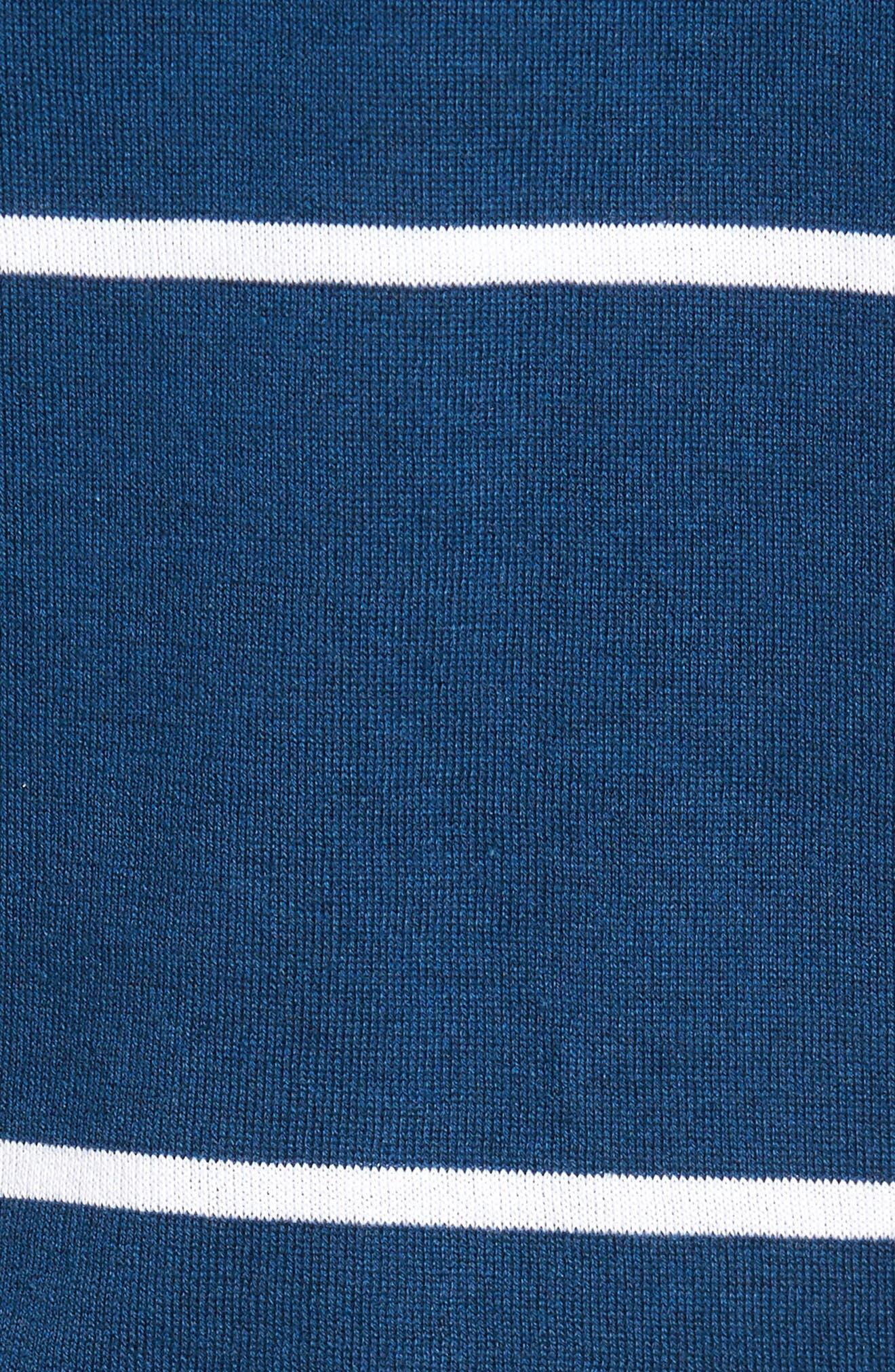 Alternate Image 5  - John Smedley Stripe Jersey Polo