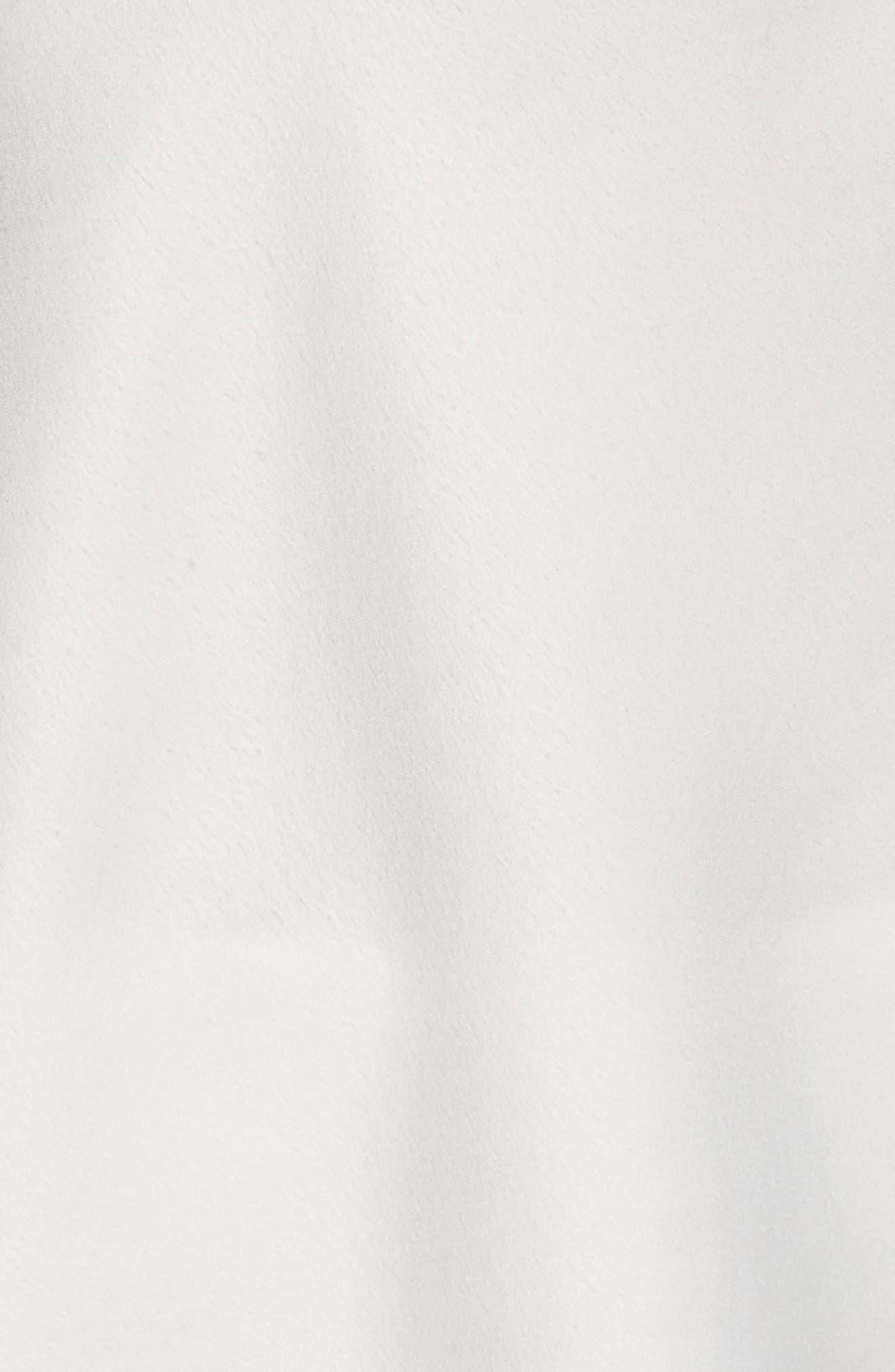 Rosa Charm Short Pajamas,                             Alternate thumbnail 6, color,                             Ivory