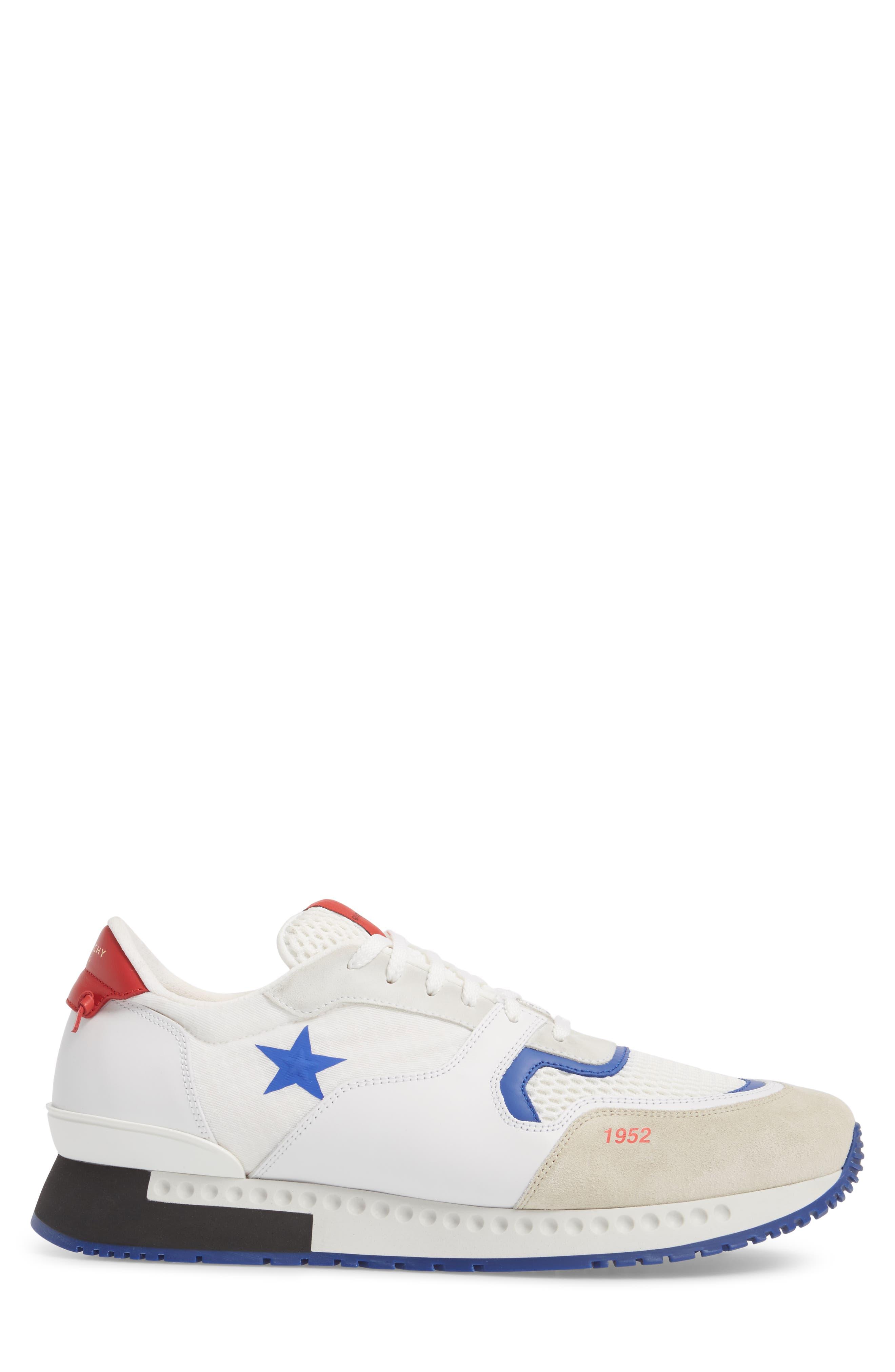 1952 Star Active Runner Sneaker,                             Alternate thumbnail 3, color,                             White/ Red