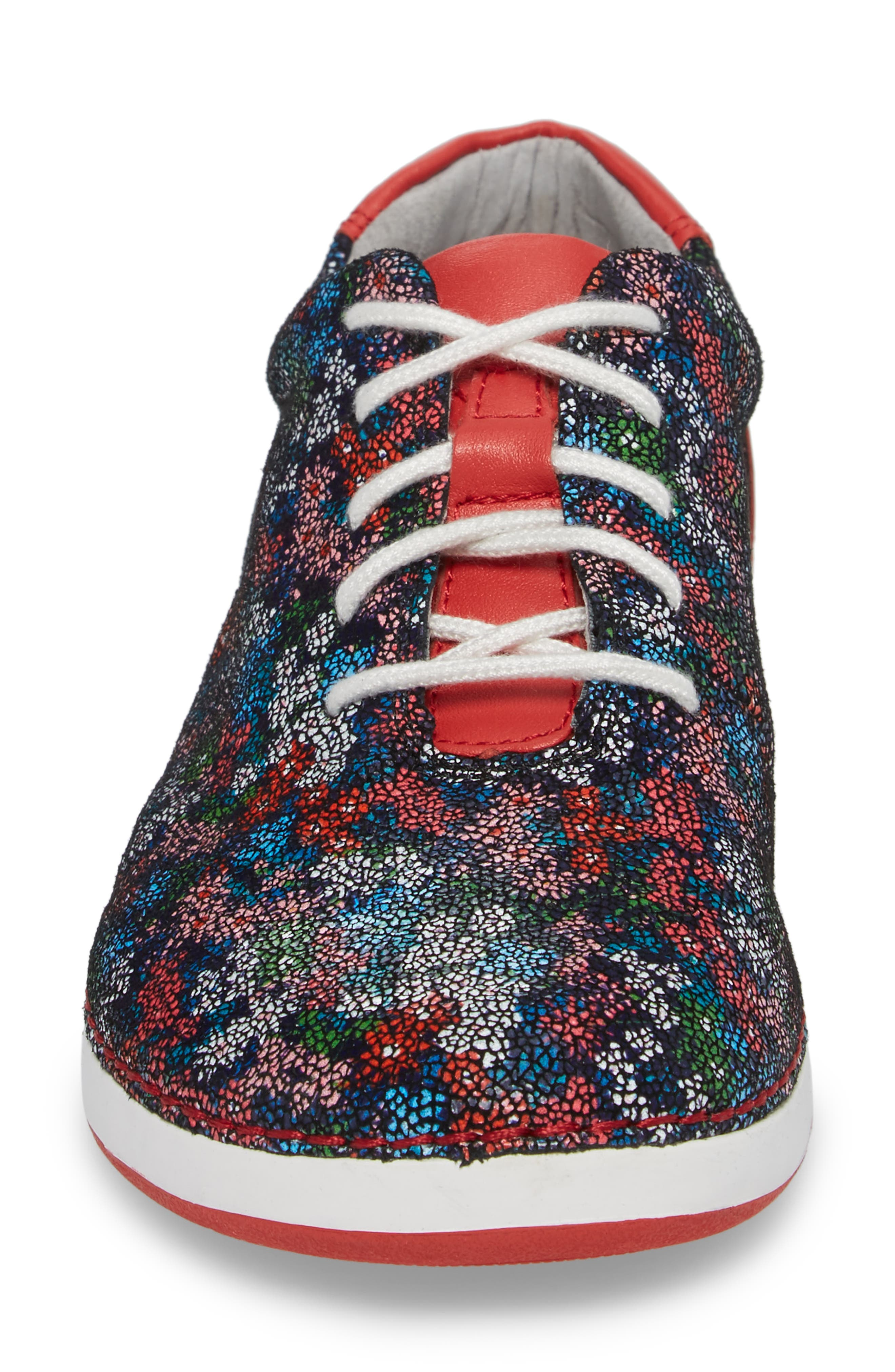 Essence Lace-Up Leather Oxford,                             Alternate thumbnail 4, color,                             Botanncool Leather