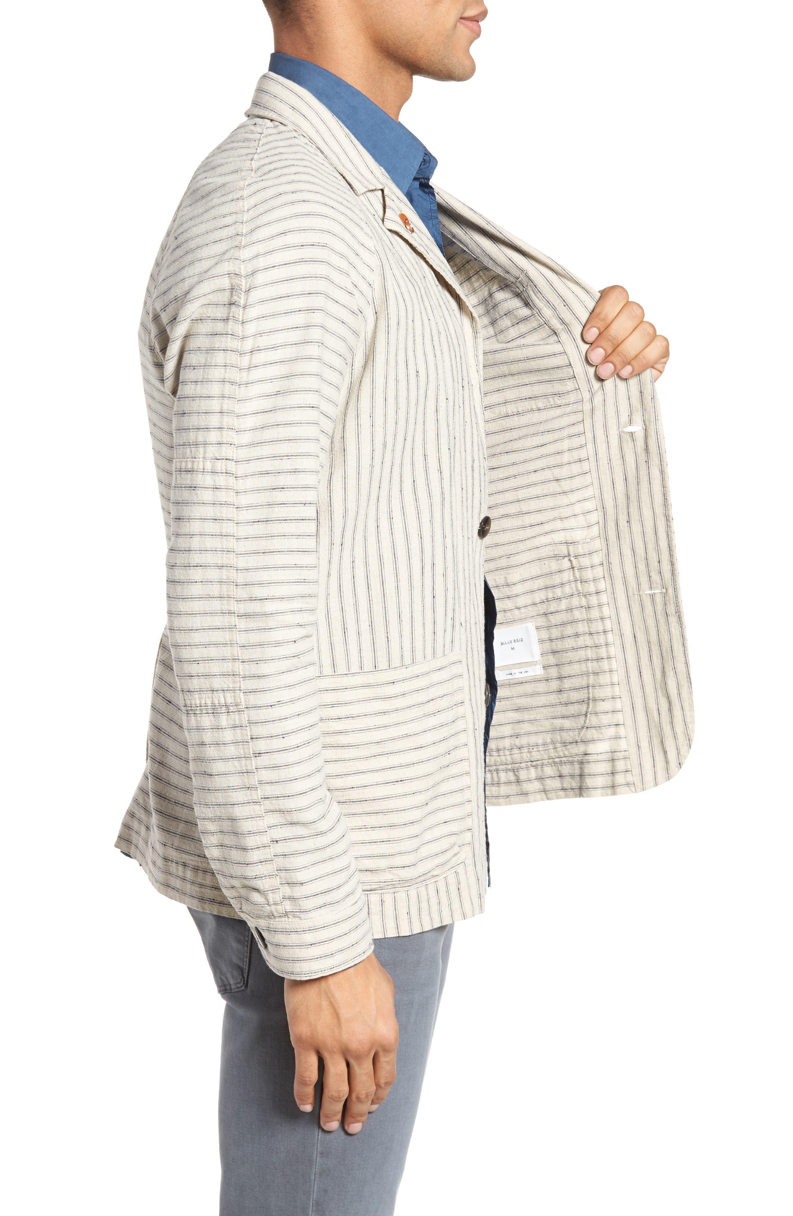 Alternate Image 3  - Billy Reid Harrison Linen & Cotton Jacket