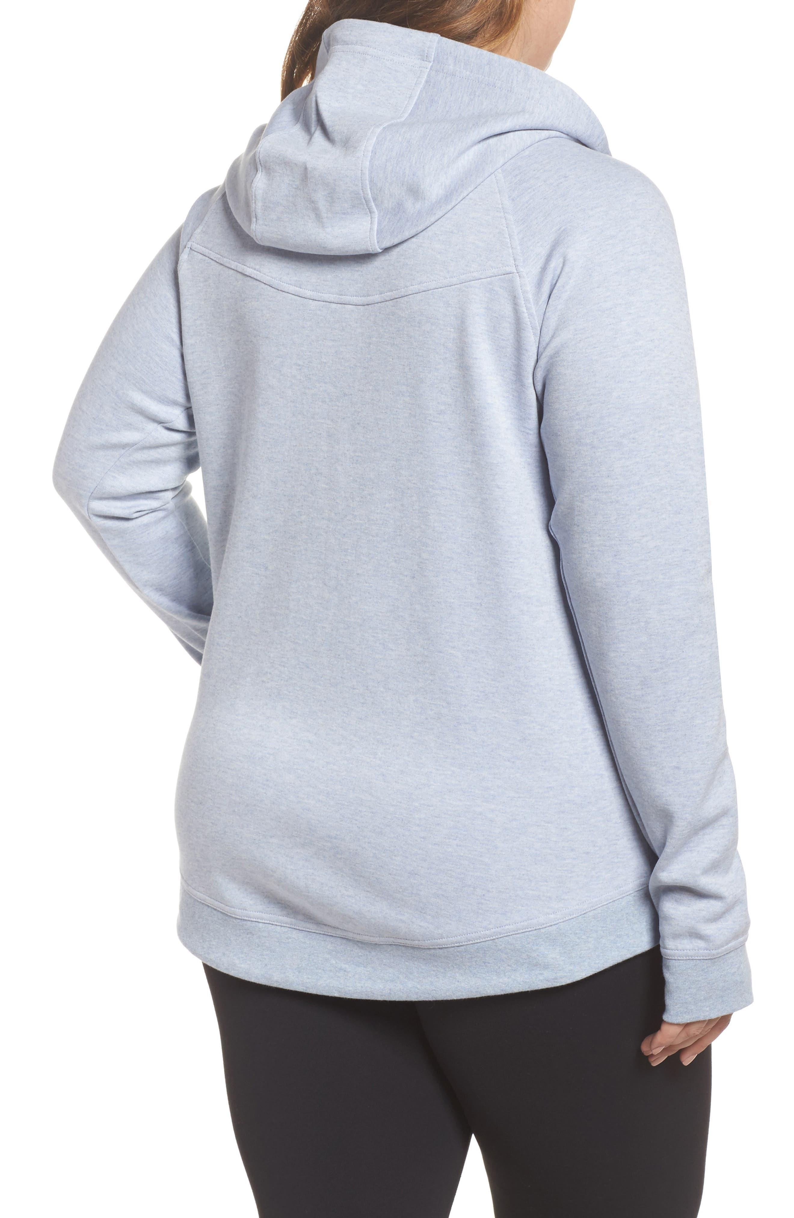 Alternate Image 2  - Nike Tech Fleece Hoodie (Plus Size)
