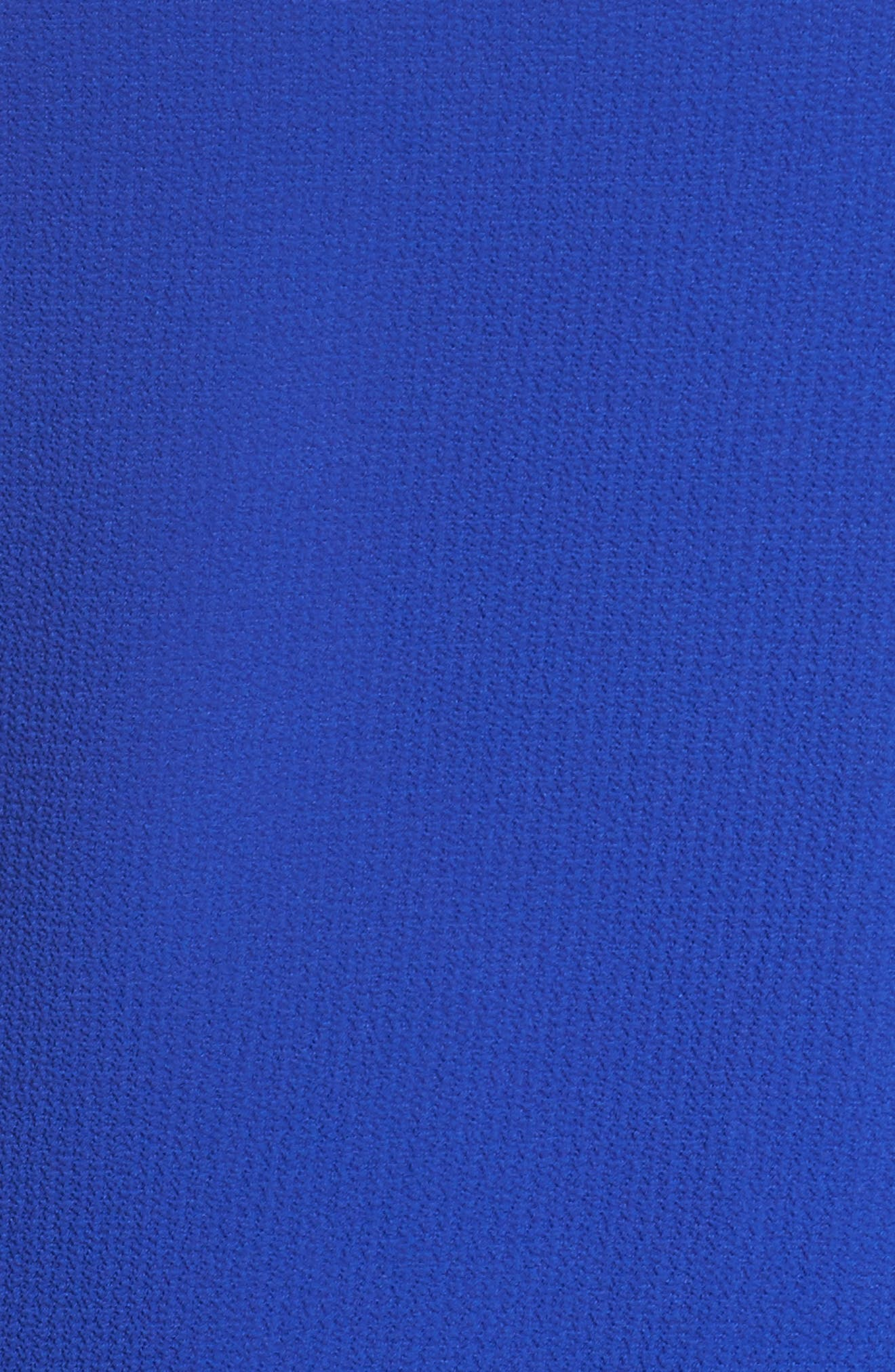 Alternate Image 5  - Gibson Bell Sleeve Ruffle Hem Blouse (Plus Size)