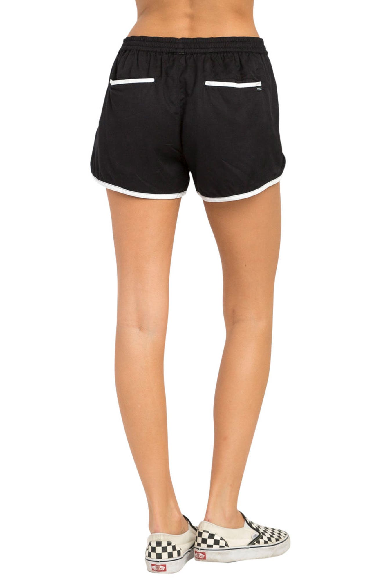 Cruising Dolphin Shorts,                             Alternate thumbnail 3, color,                             Black