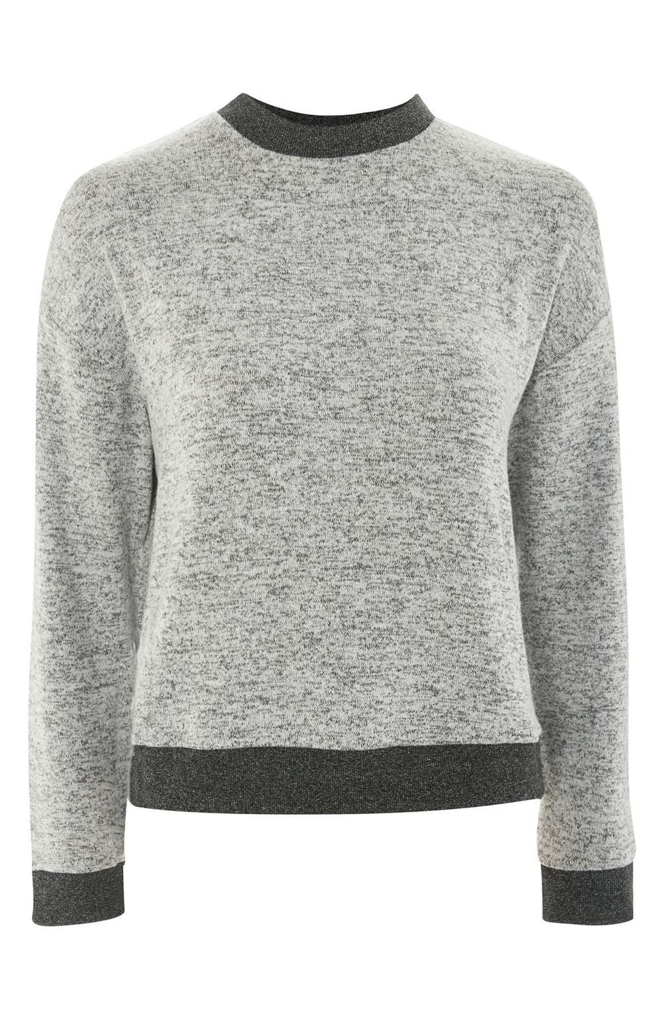 Alternate Image 3  - Topshop Soft Sweatshirt