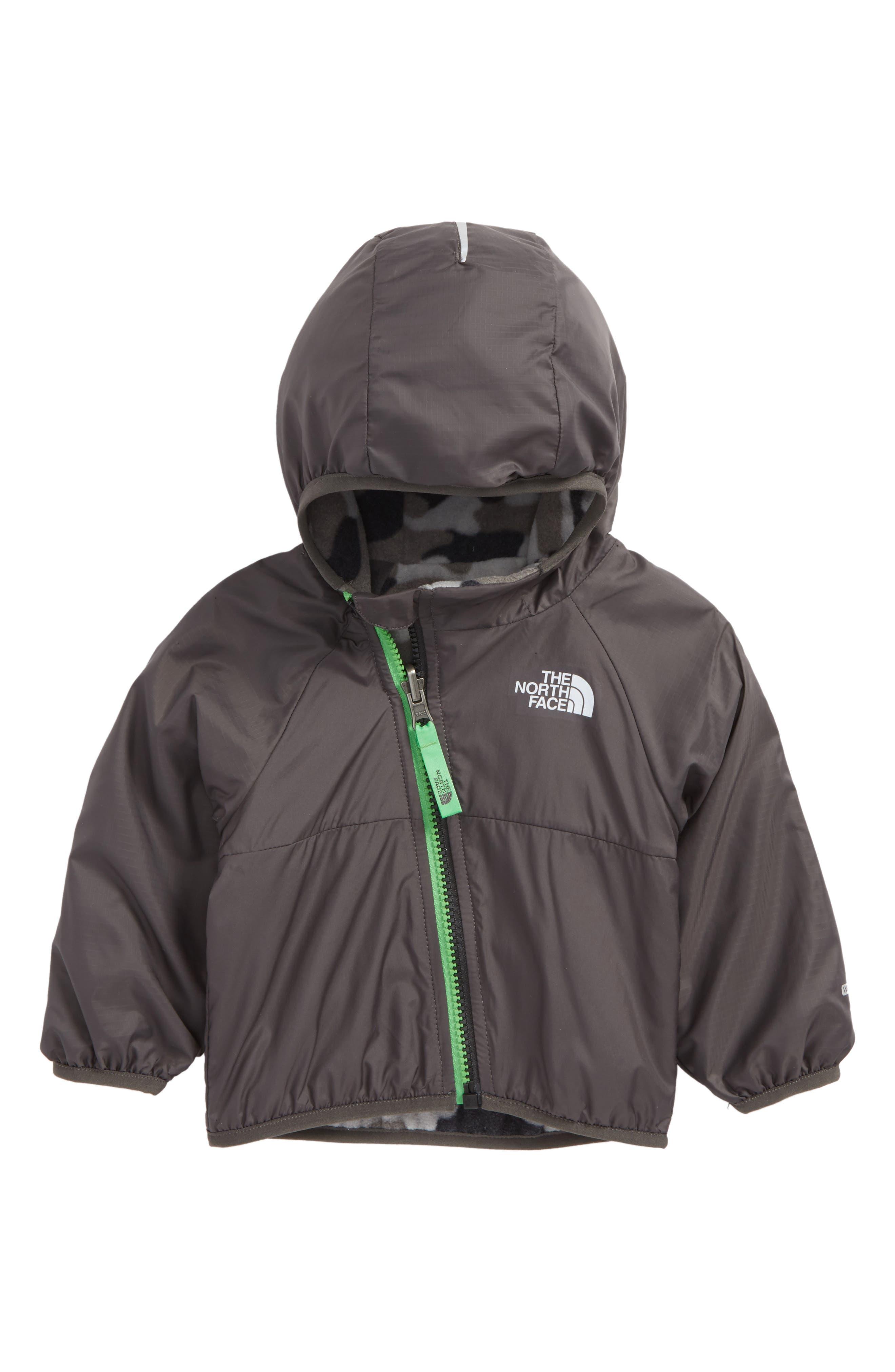 Breezeway Reversible Water-Repellent Windbreaker Jacket,                         Main,                         color, Graphite Grey