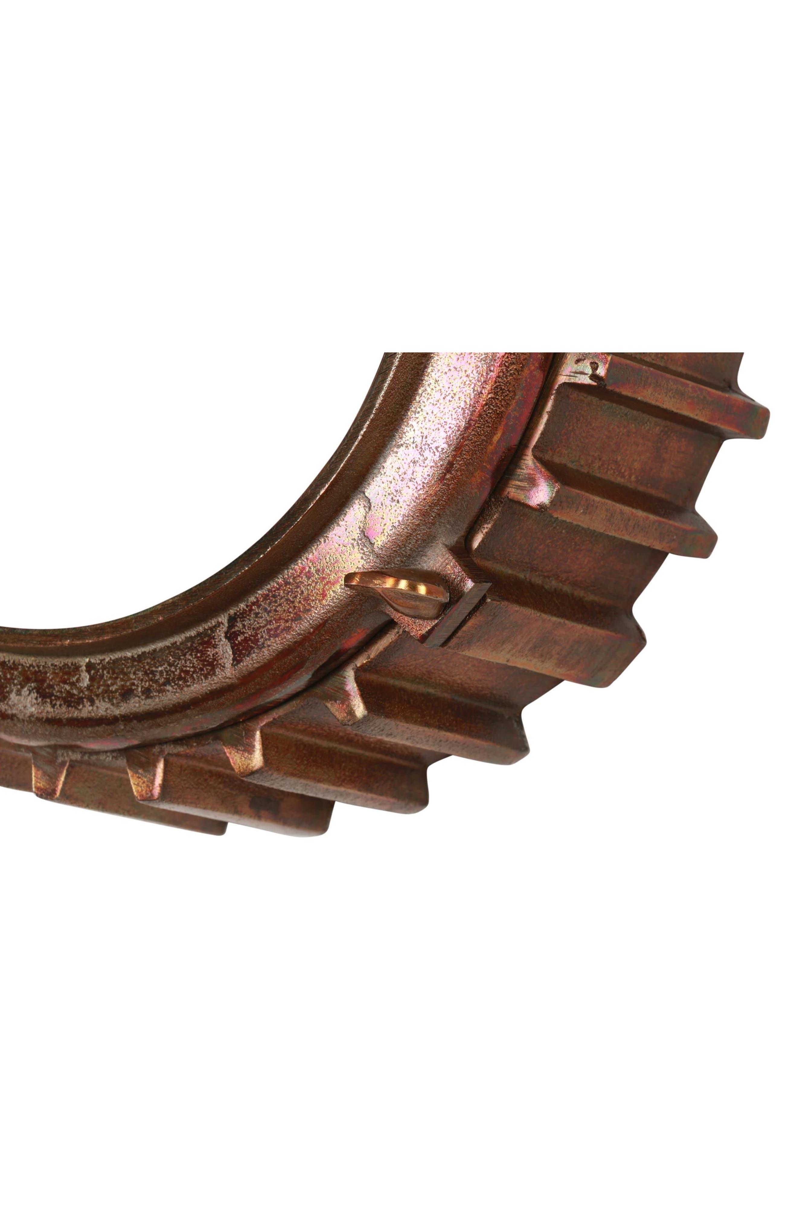 Neston Mirror,                             Alternate thumbnail 5, color,                             Copper/ Cobalt Blue/ Brass