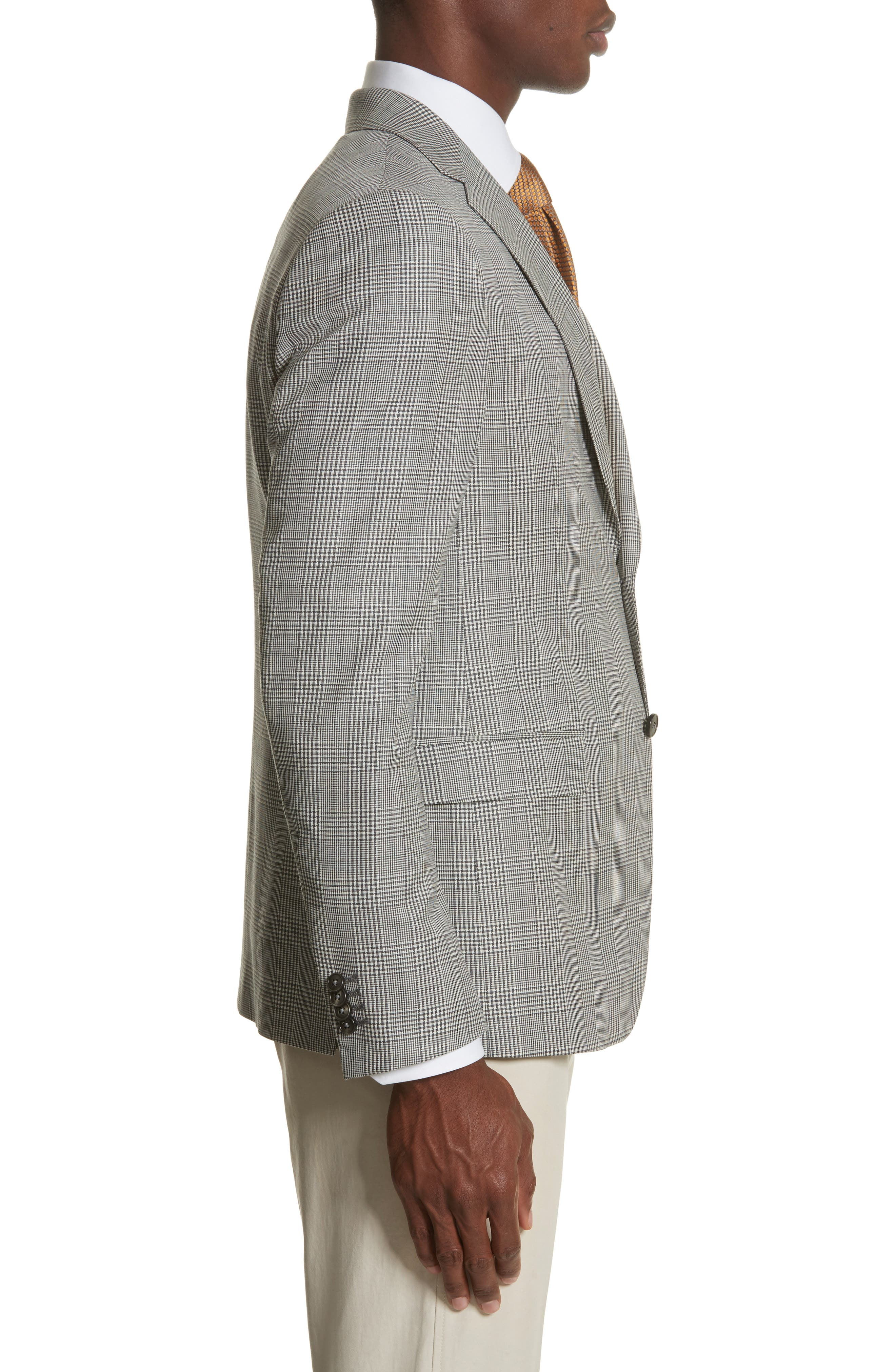Alternate Image 3  - Z Zegna Classic Fit Plaid Wool Sport Coat