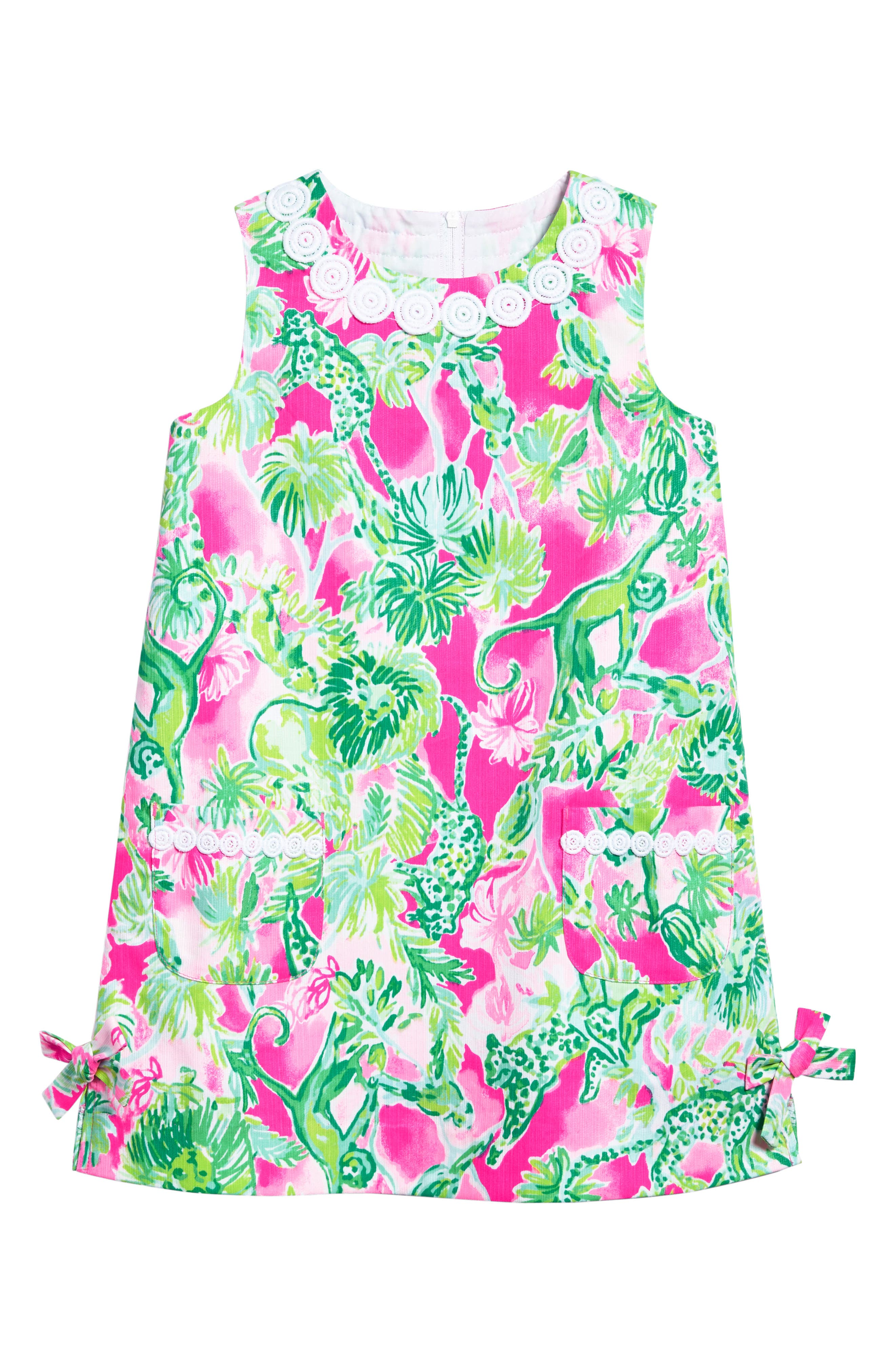 Alternate Image 1 Selected - Lilly Pulitzer® Little Lilly Shift Dress (Toddler Girls, Little Girls & Big Girls)