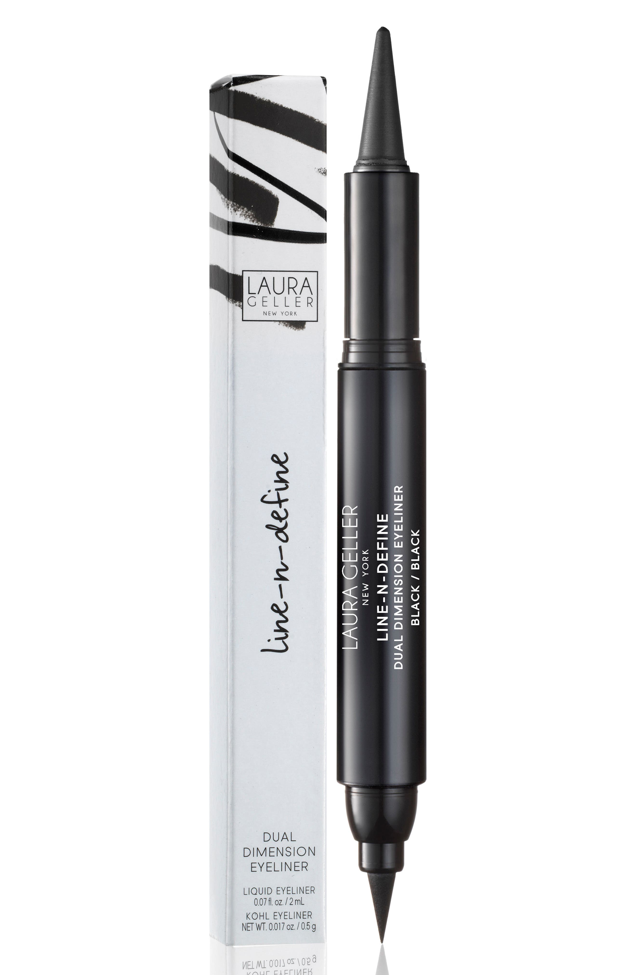 Line-N-Define Dual Dimension Eyeliner,                             Alternate thumbnail 3, color,                             Black