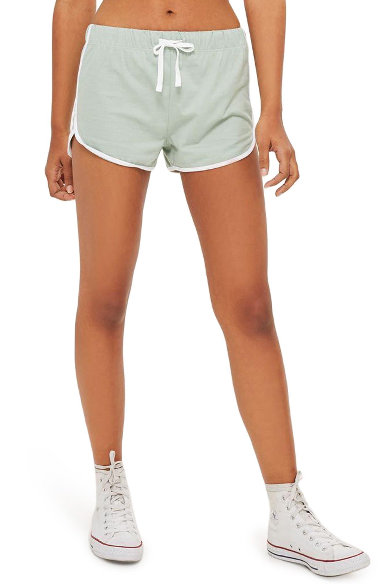 Alternate Image 1 Selected - Topshop Nep Runner Shorts