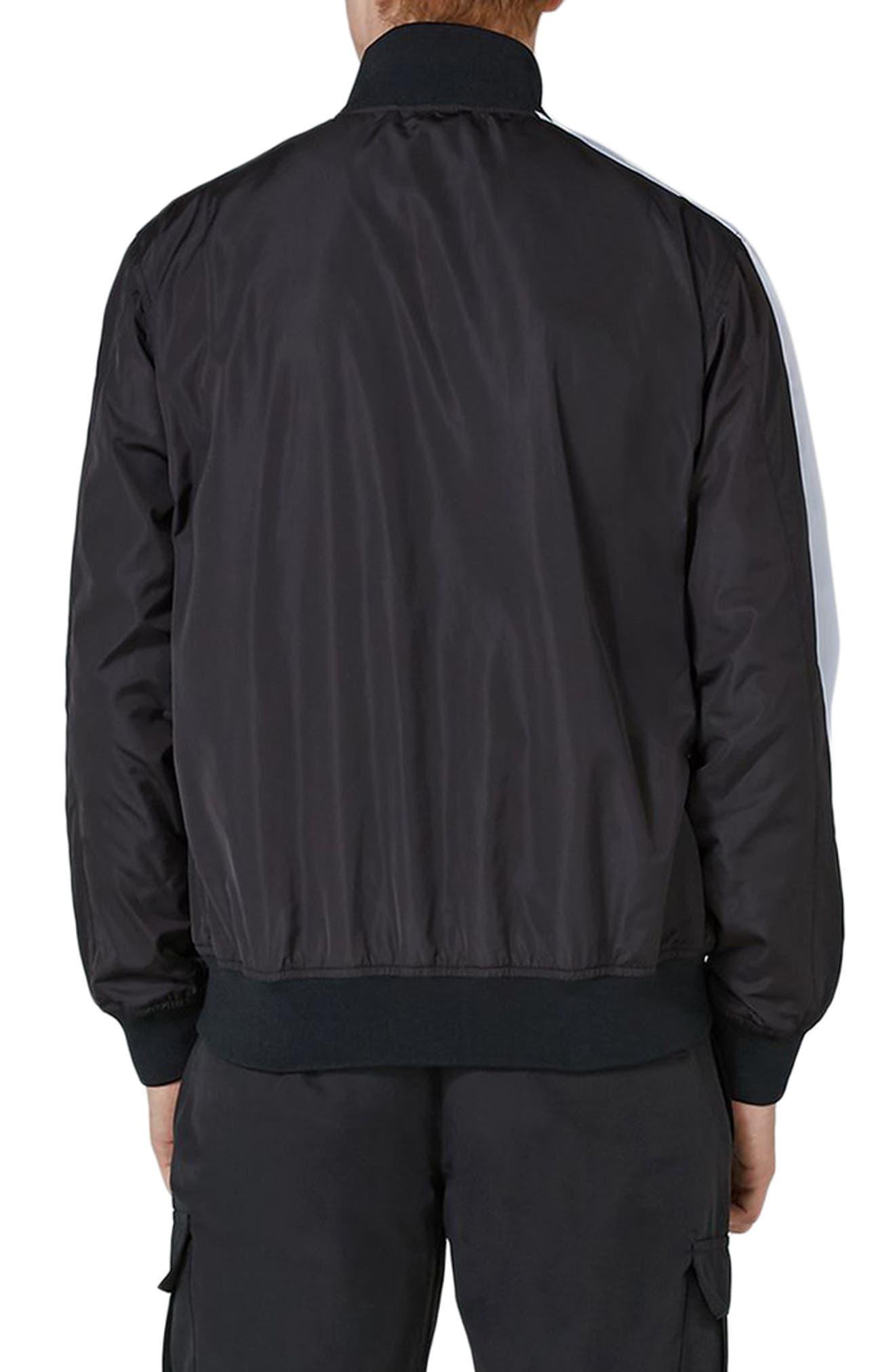 Sport Track Jacket,                             Alternate thumbnail 2, color,                             Black Multi