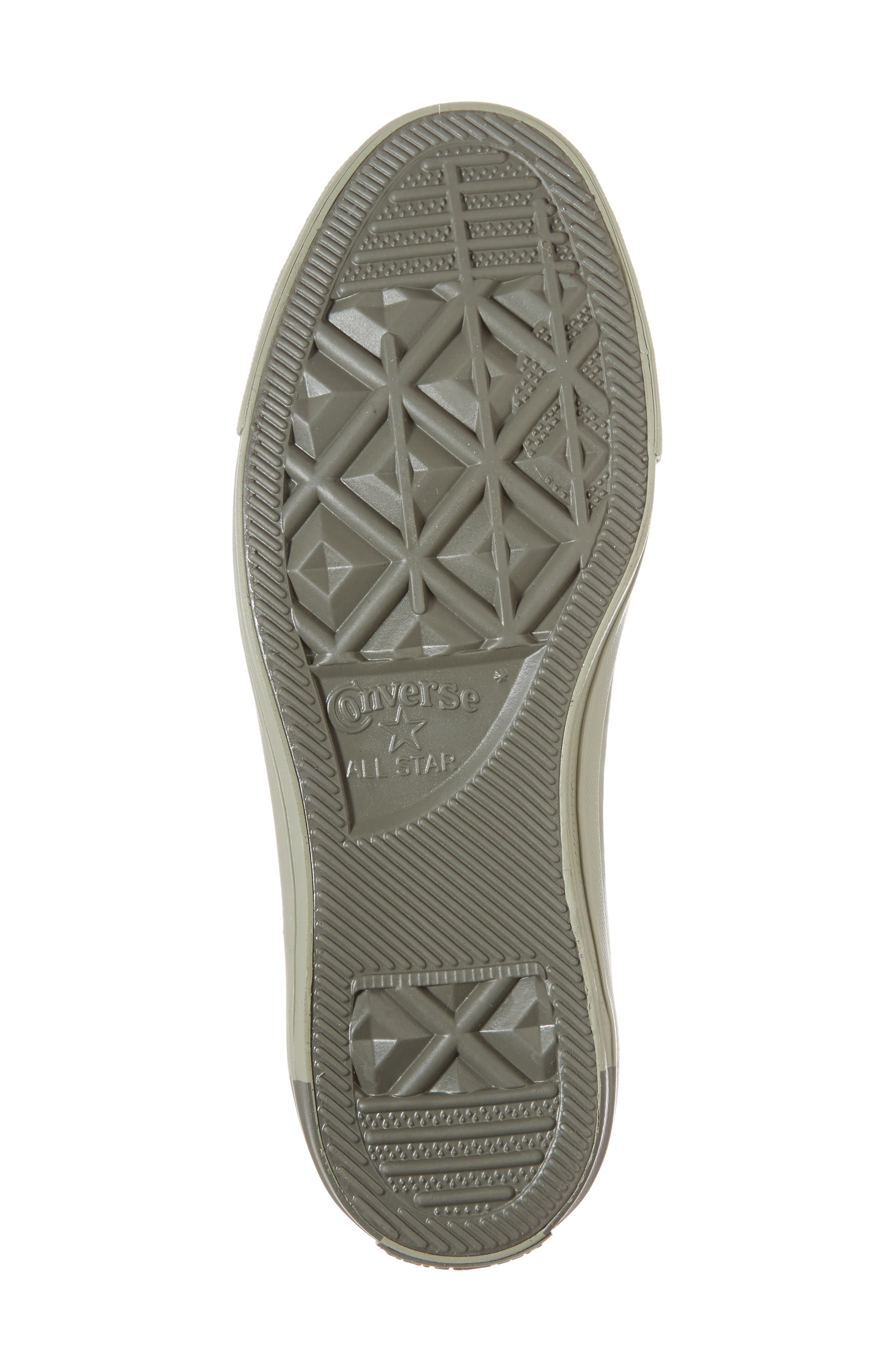 Chuck Taylor<sup>®</sup> All Star<sup>®</sup> High Top Sneaker,                             Alternate thumbnail 6, color,                             Dark Stucco