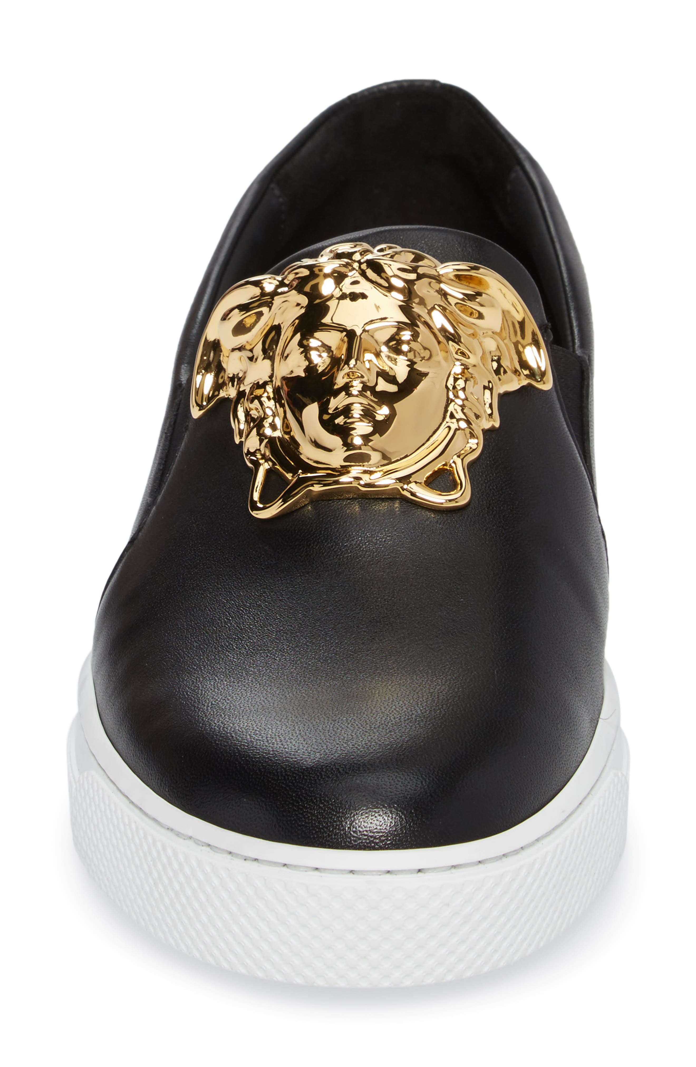 Alternate Image 4  - Versace First Line Iconic Palazzo Slip-On (Men)
