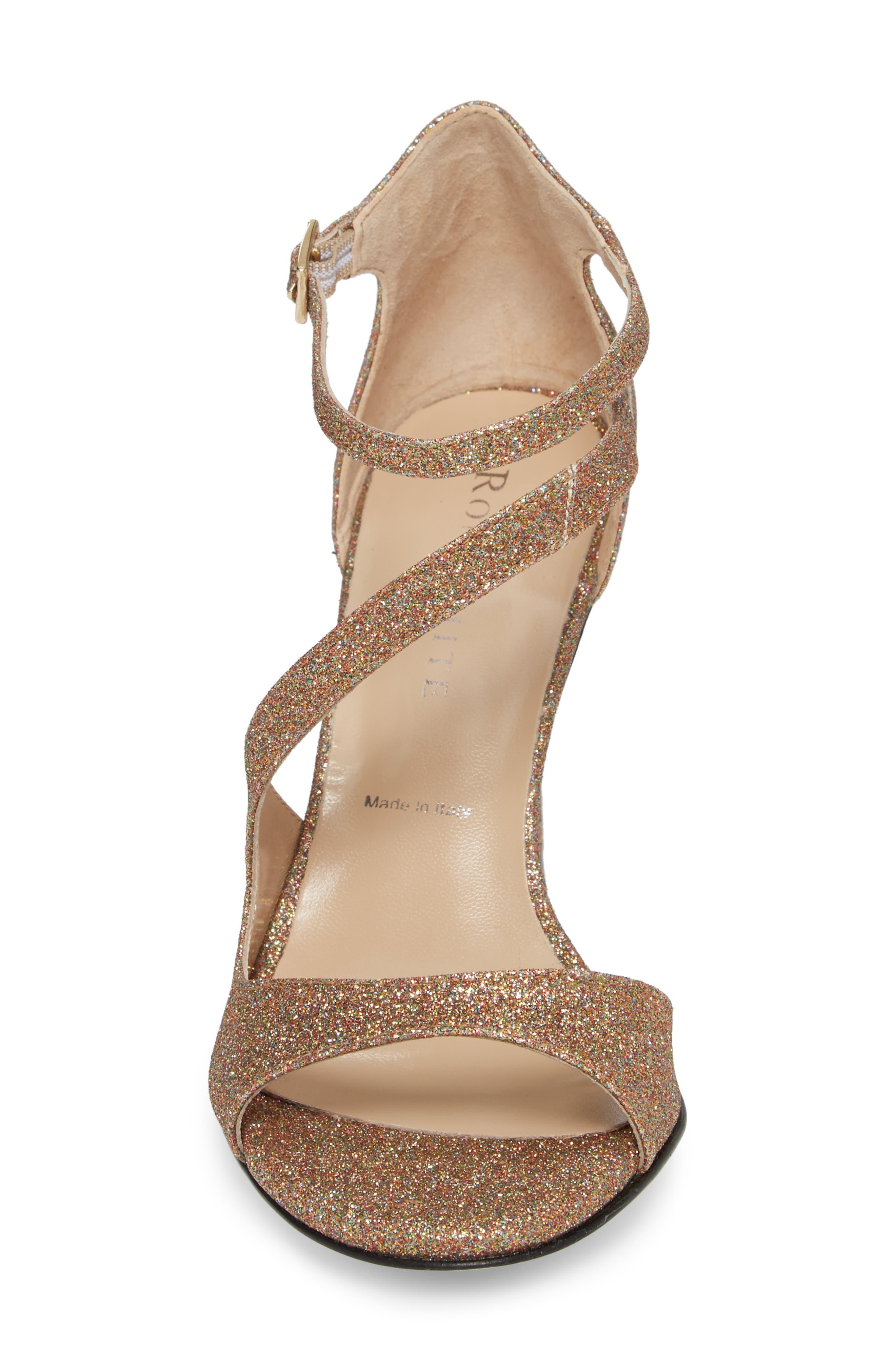 Alternate Image 4  - Ron White Vallie Glitter Sandal (Women)