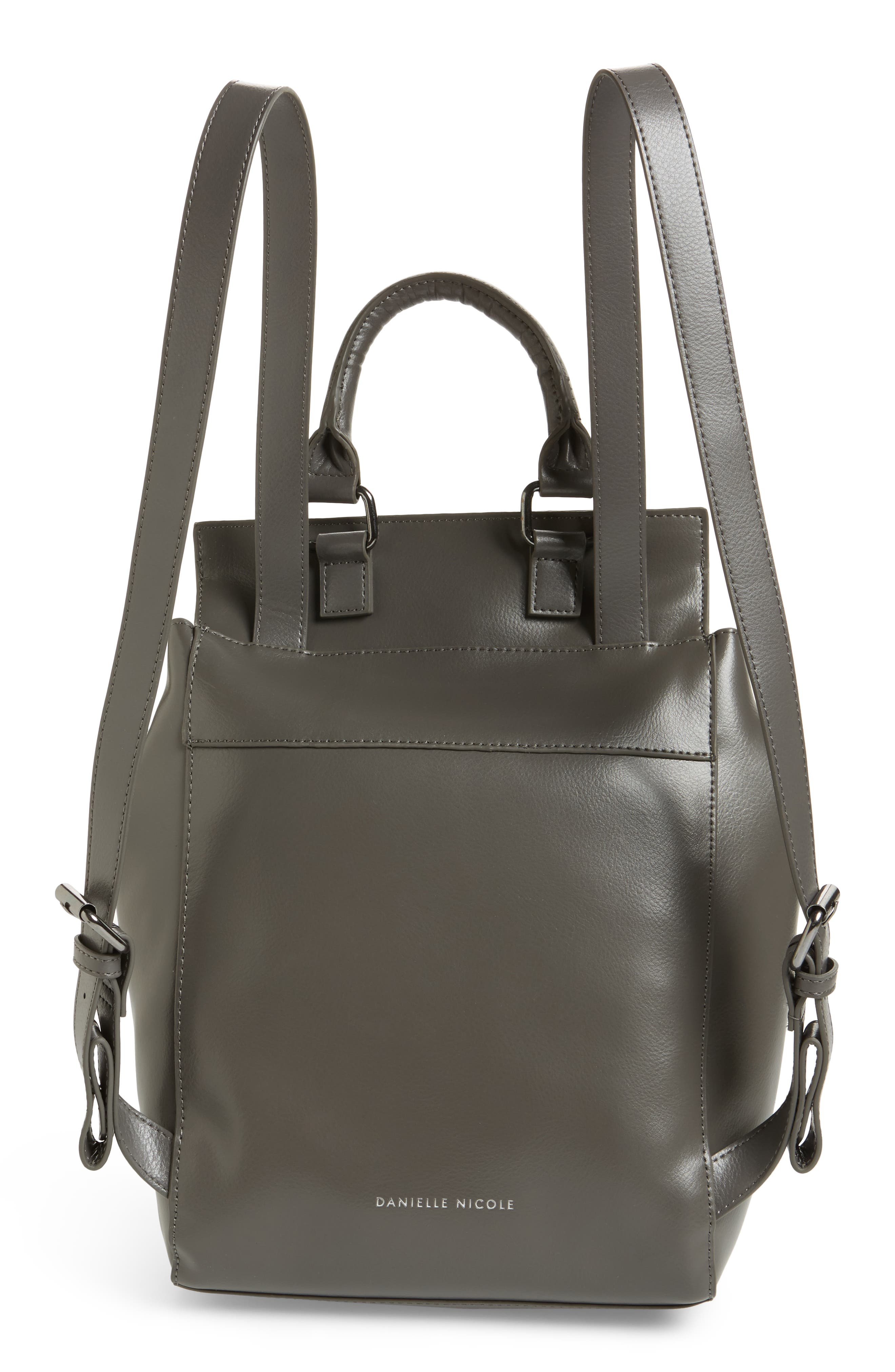 Alternate Image 3  - Danielle Nicole Dylan Leather Backpack