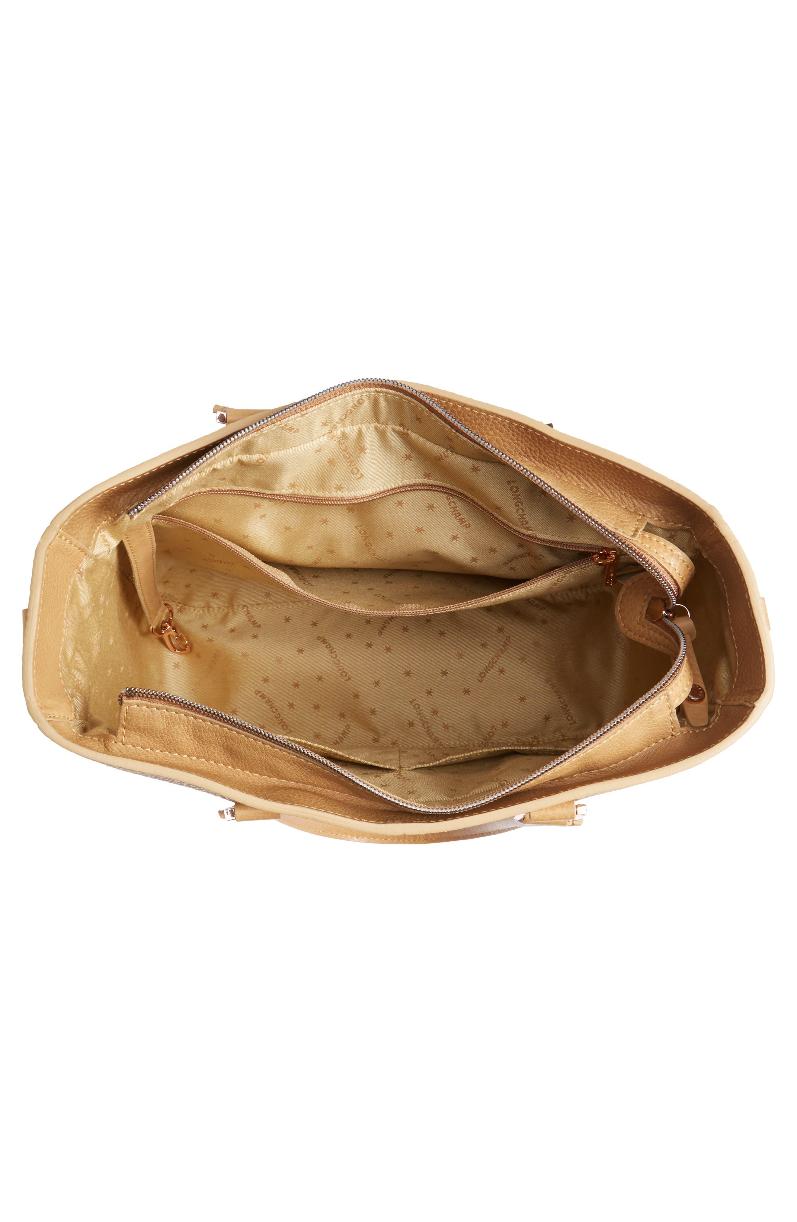 Alternate Image 4  - Longchamp Mystery Leather Satchel