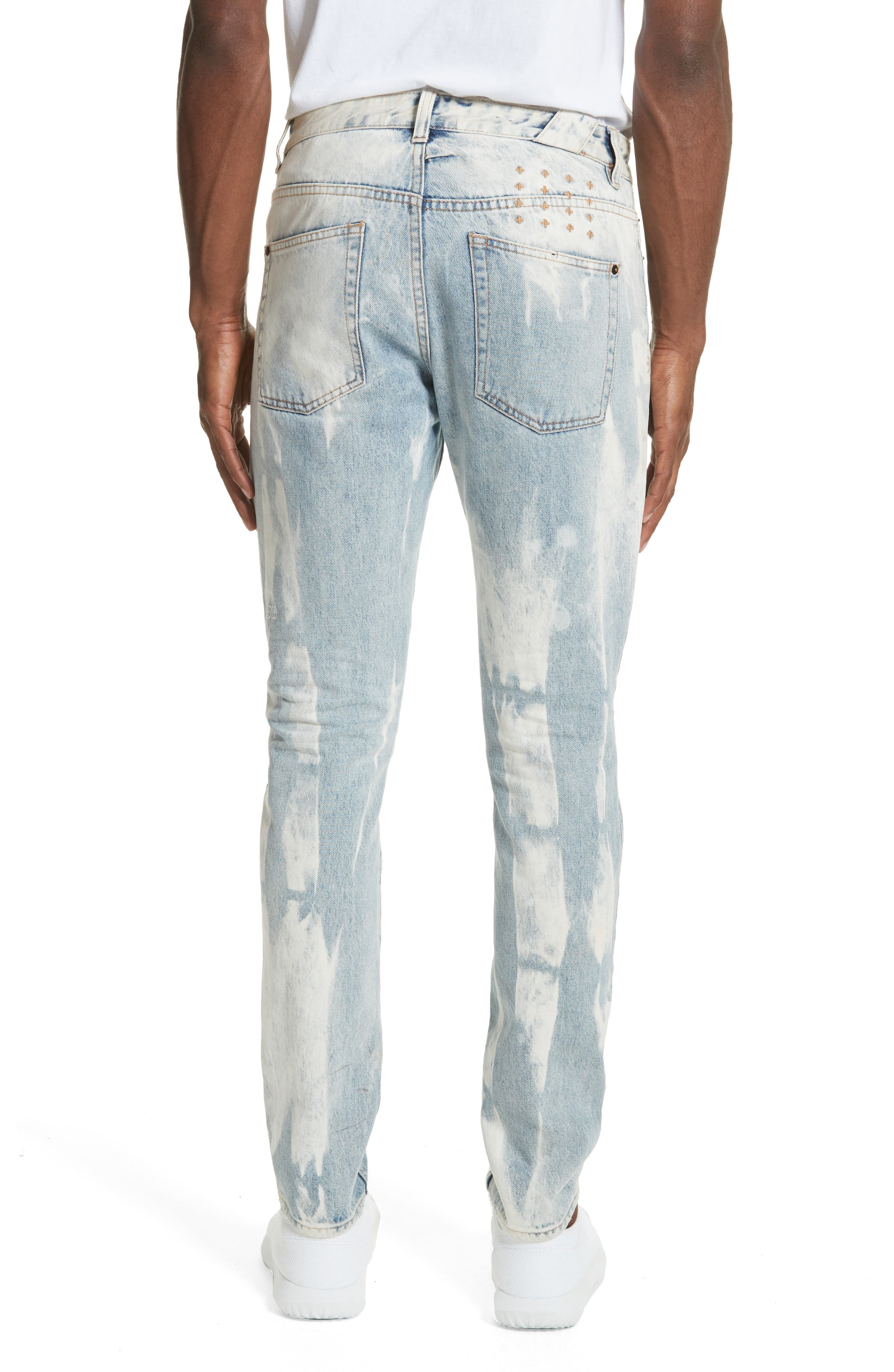 Chitch Mile Skinny Jeans,                             Alternate thumbnail 2, color,                             Denim