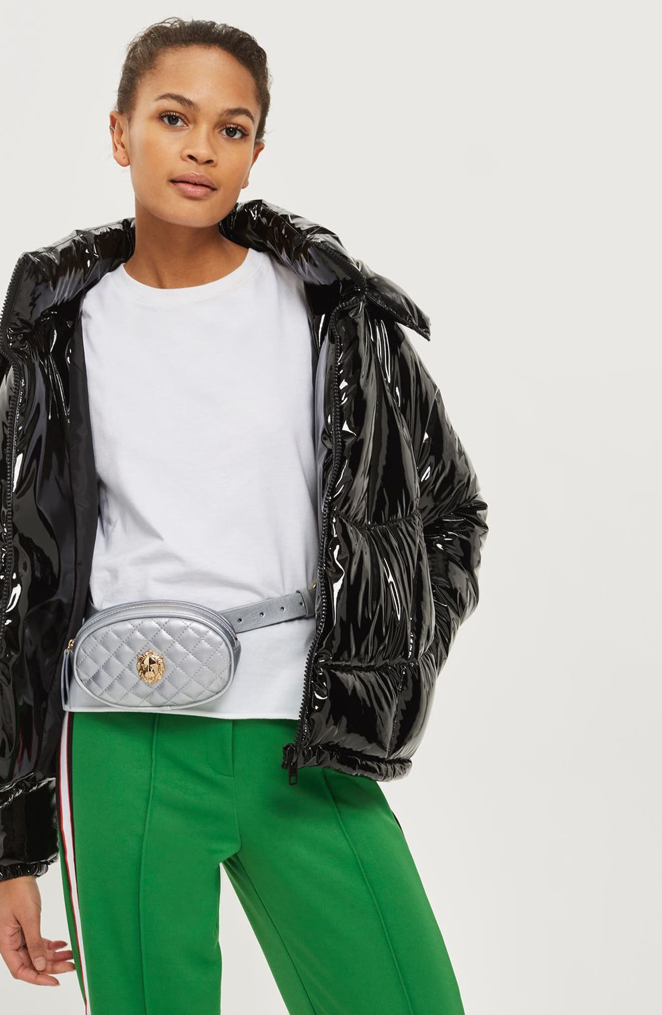 Topshop Lion Head Purse Belt
