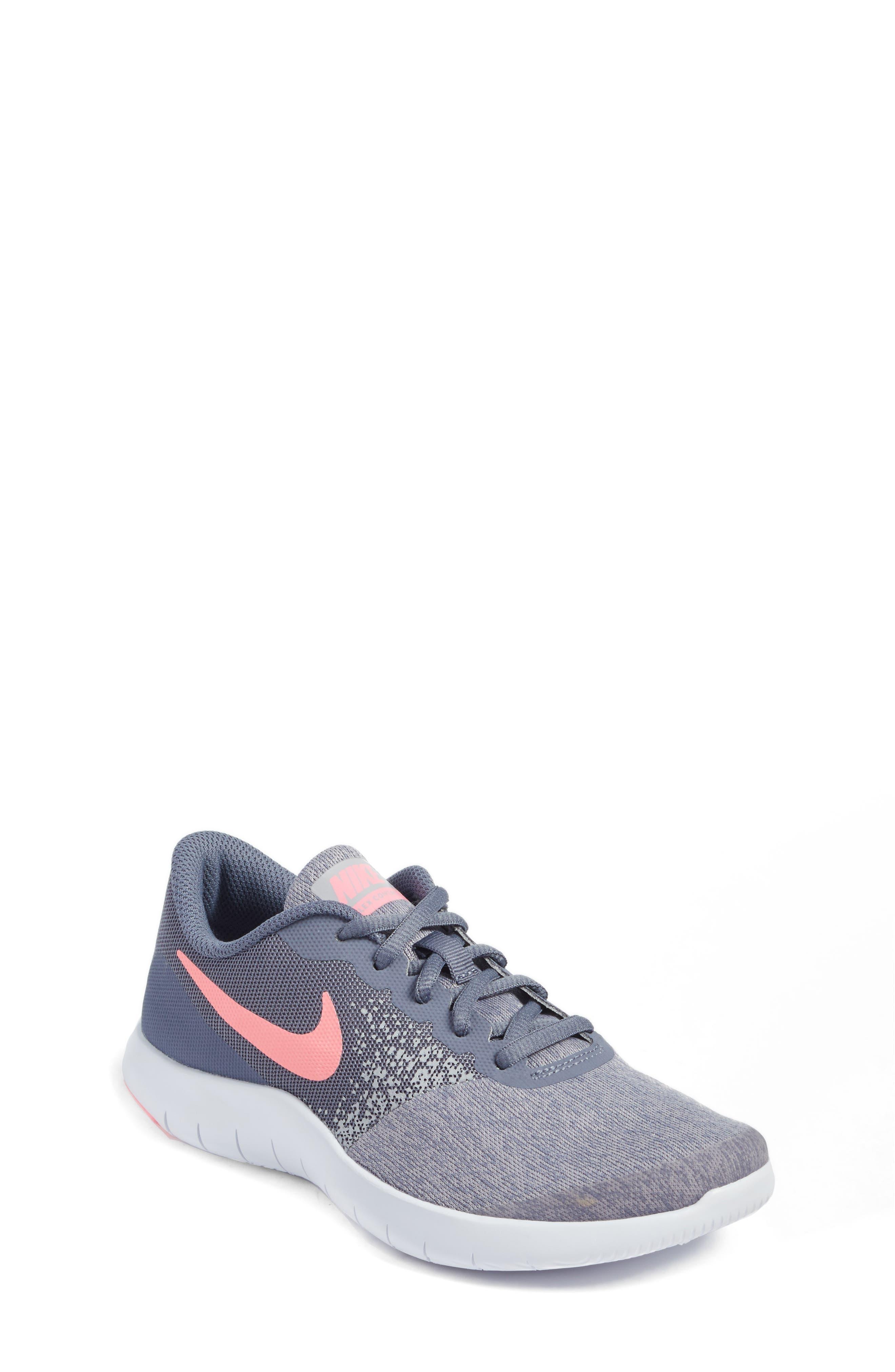 Nike Flex Contact Running Shoe (Big Kid)
