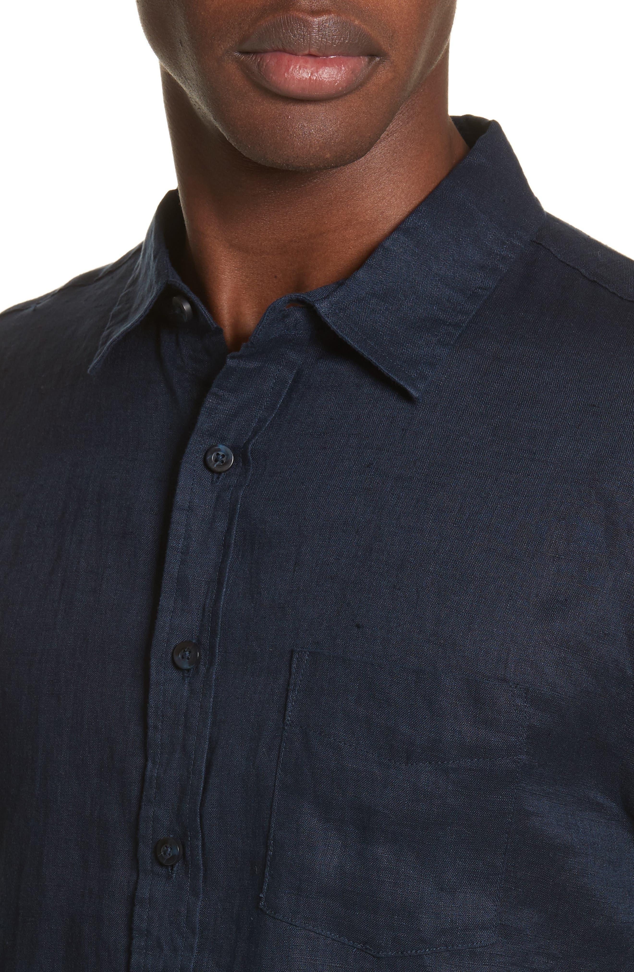 Alternate Image 4  - ONIA Abe Linen Shirt
