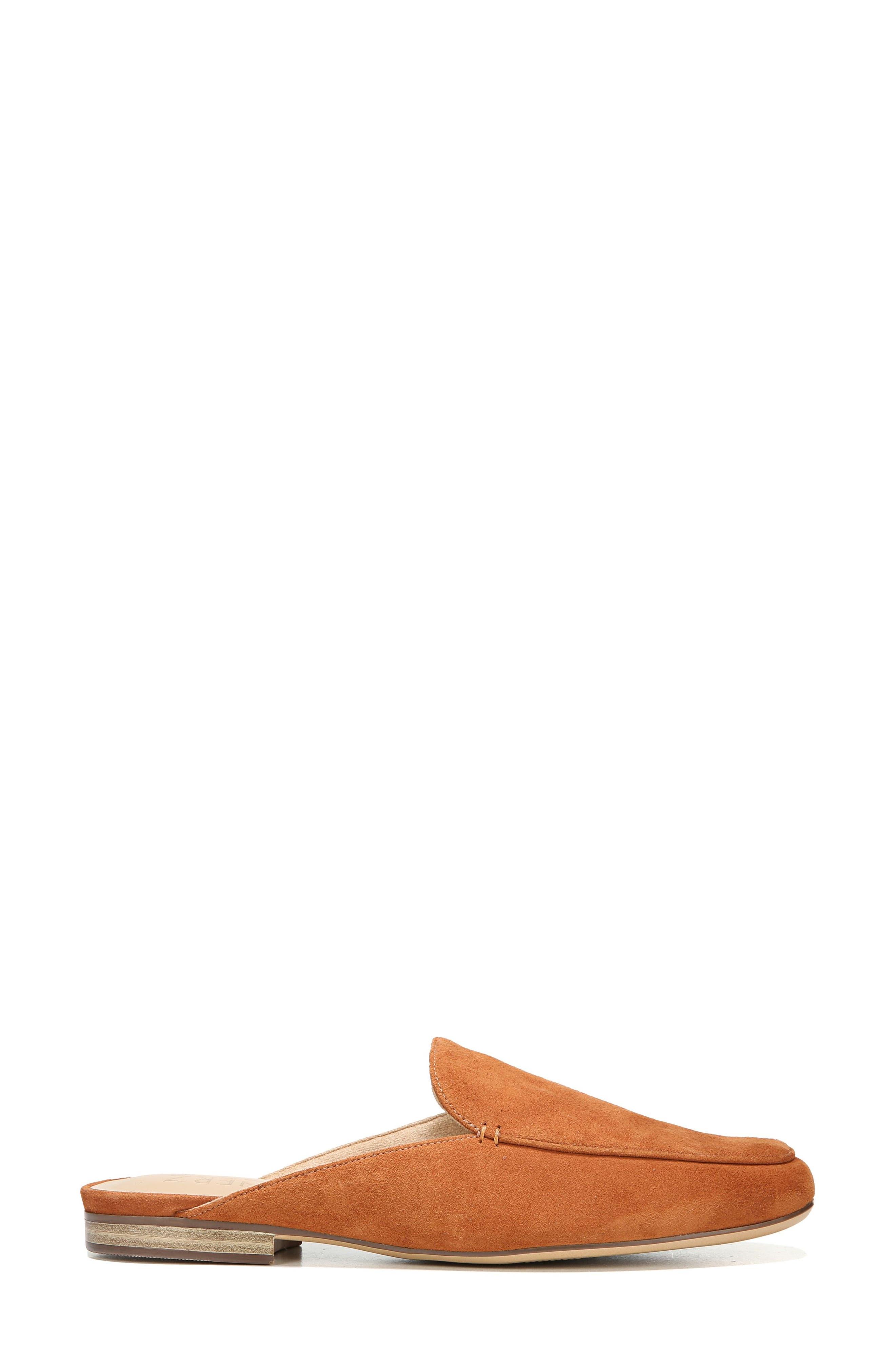 Eden Mule,                             Alternate thumbnail 3, color,                             Light Maple Leather