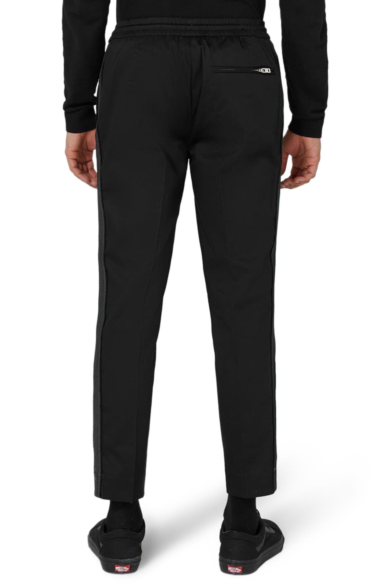 Jazzy Side Stripe Jogger Pants,                             Alternate thumbnail 2, color,                             Black Multi