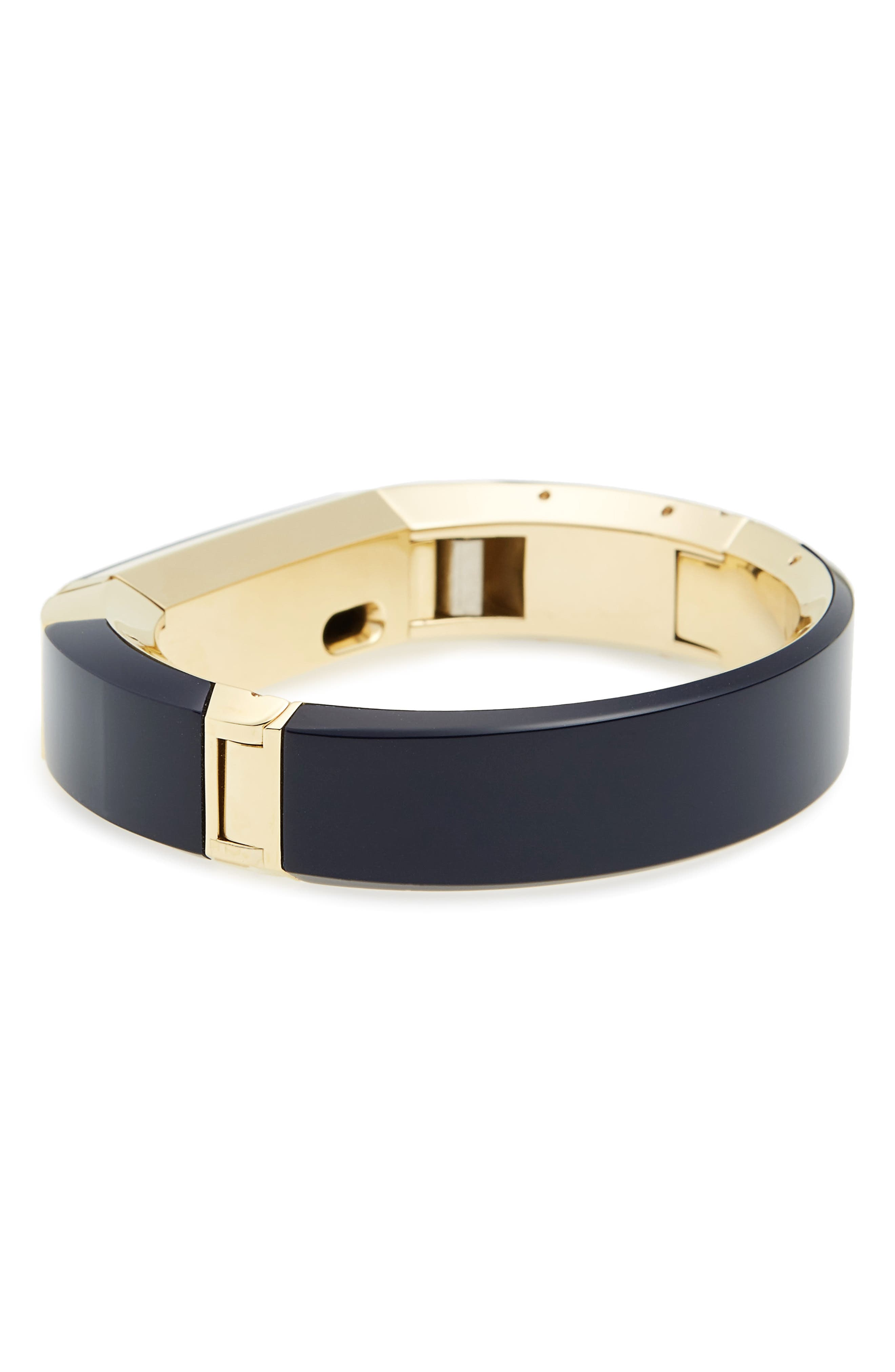 for Fitbit<sup>®</sup> Alta Bracelet,                             Alternate thumbnail 2, color,                             Tory Navy / Tory Gold