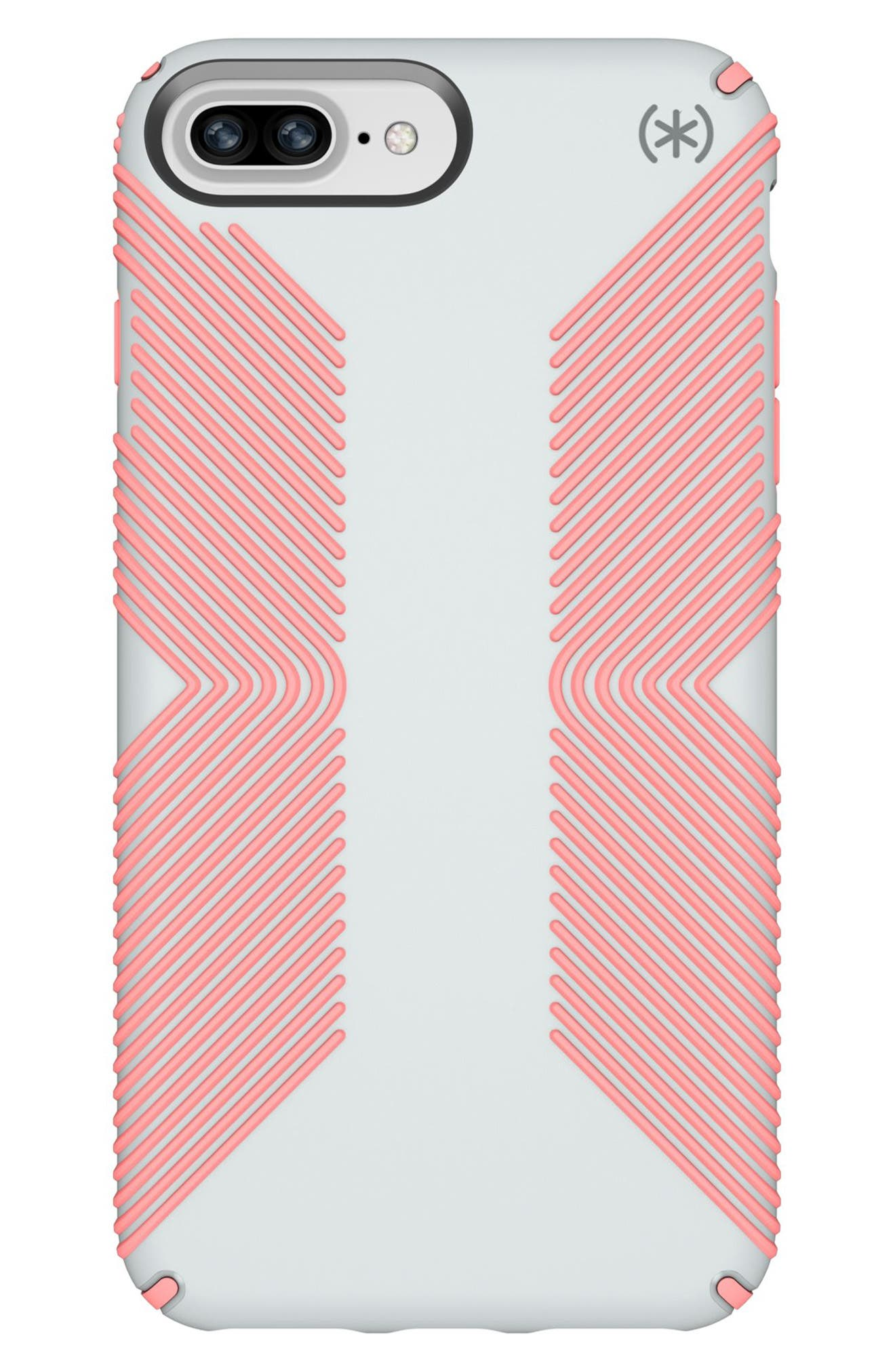 Grip iPhone 6/6s/7/8 Plus Case,                         Main,                         color, Dove Grey/ Tart Pink