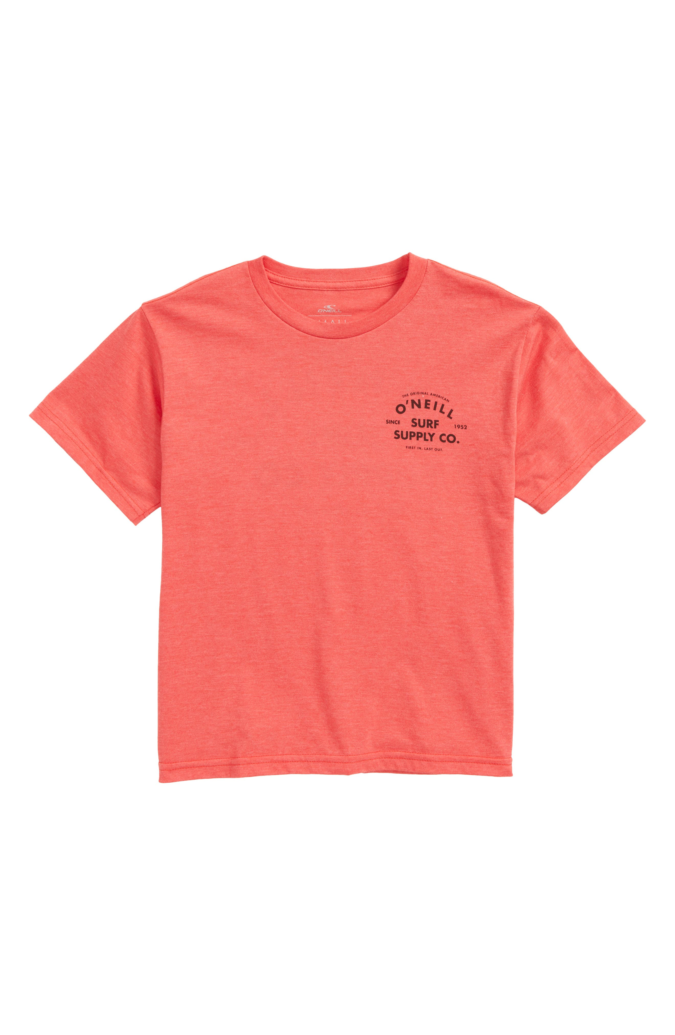 Gonner Graphic T-Shirt,                         Main,                         color, Heather Red