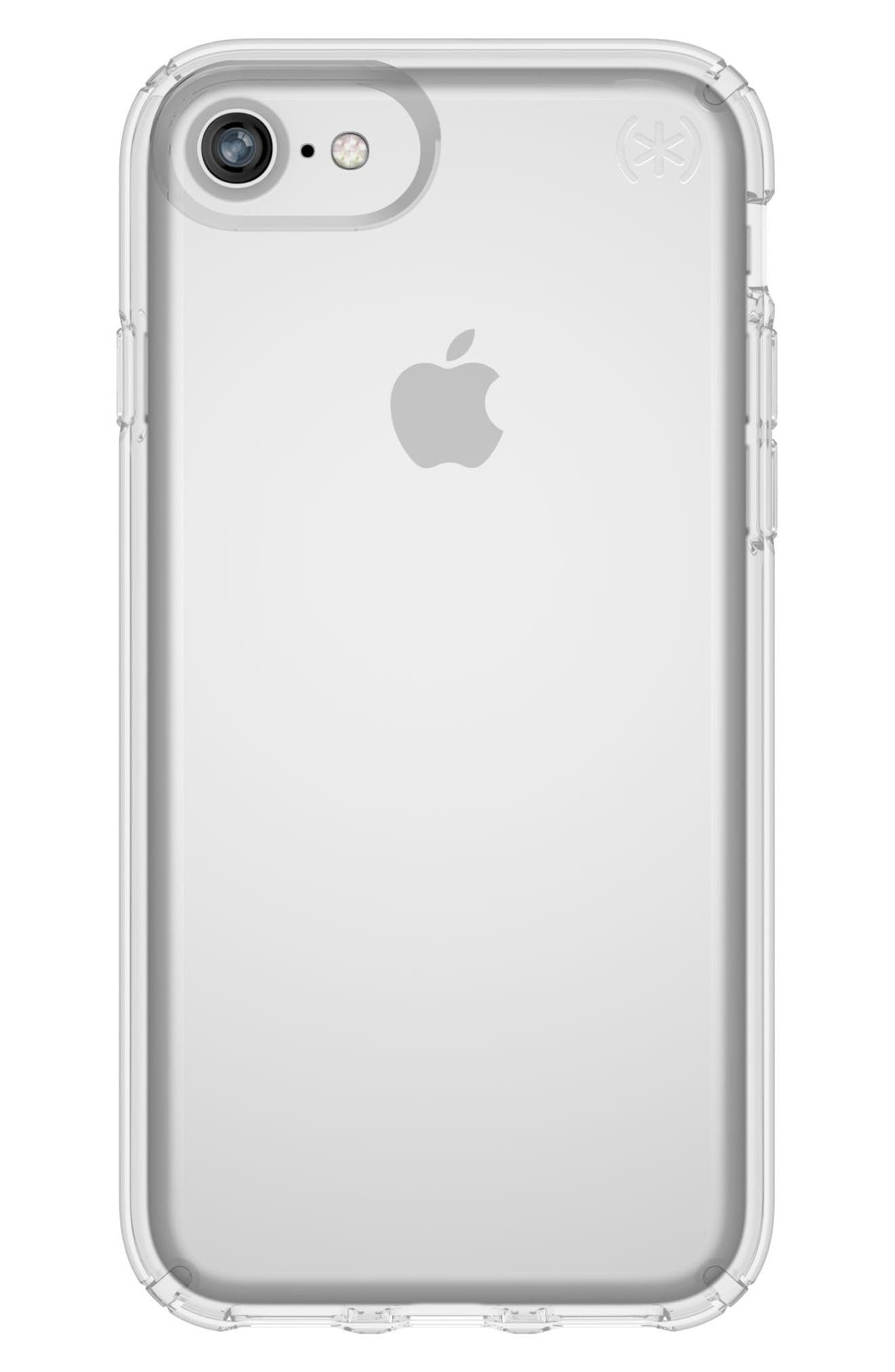 Transparent iPhone 6/6s/7/8 Case,                         Main,                         color, Clear/ Clear