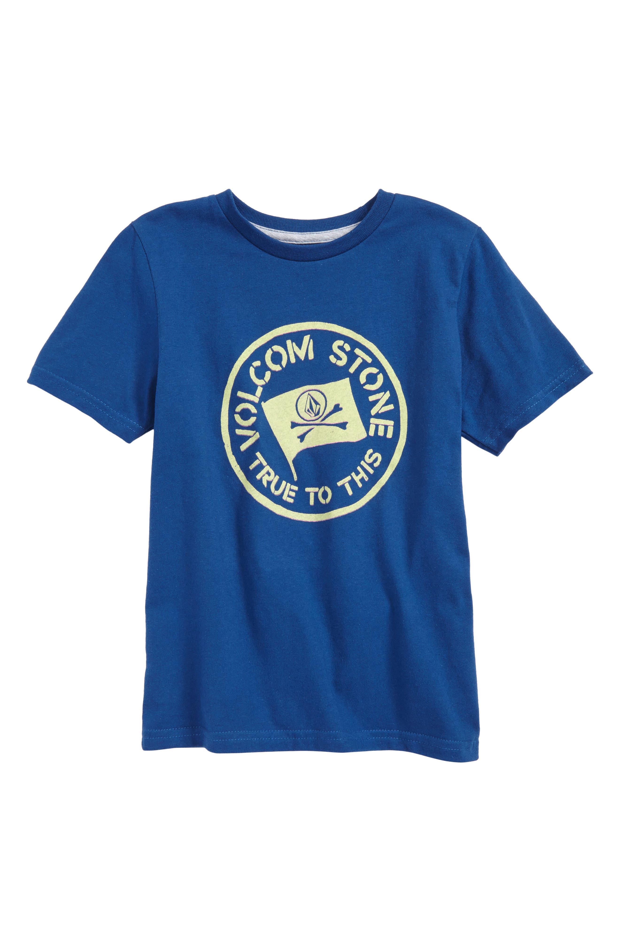 Jolly Rebel T-Shirt,                         Main,                         color, Camper Blue