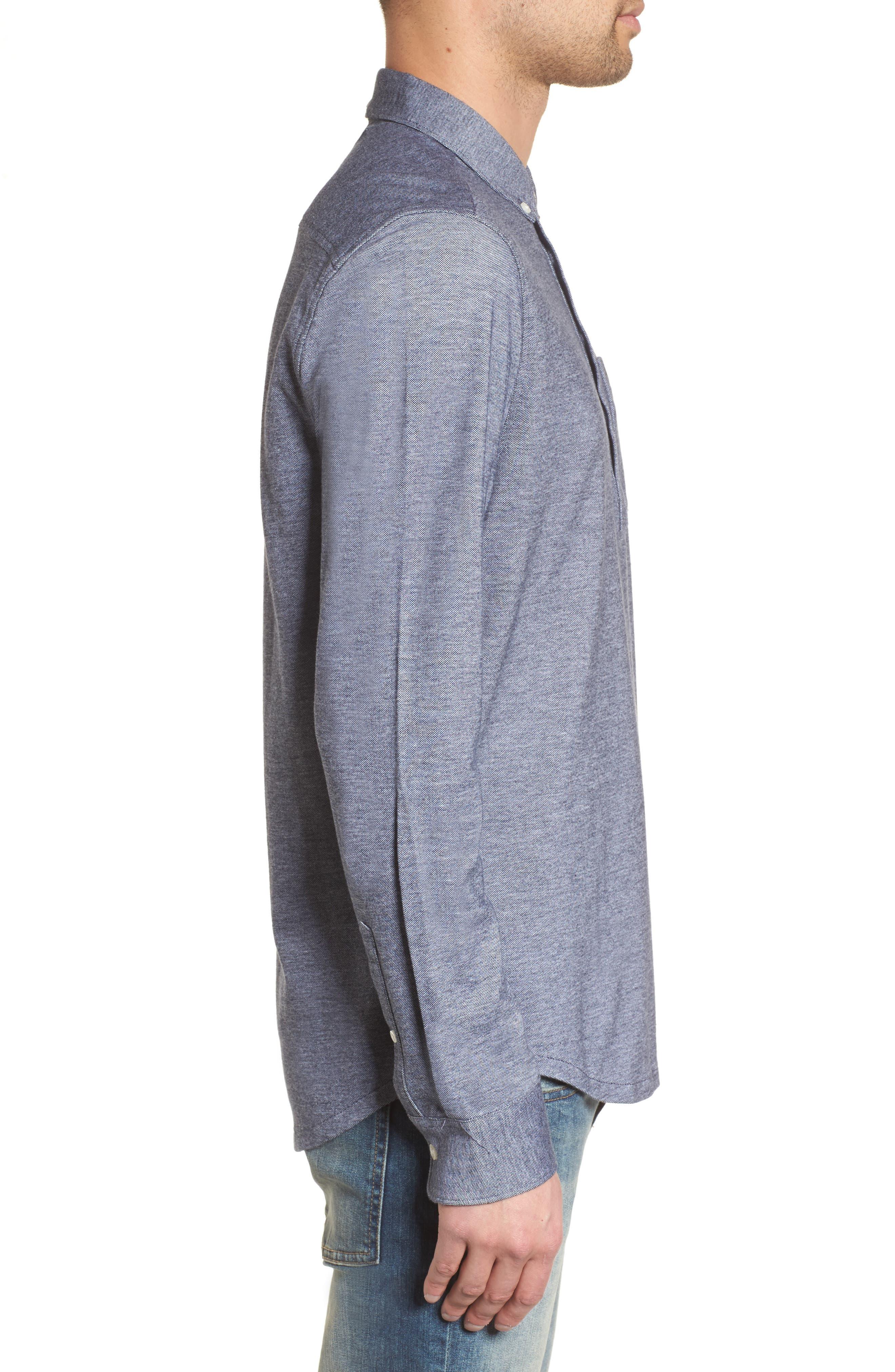Alternate Image 3  - Original Penguin Bird's Eye Pique Shirt