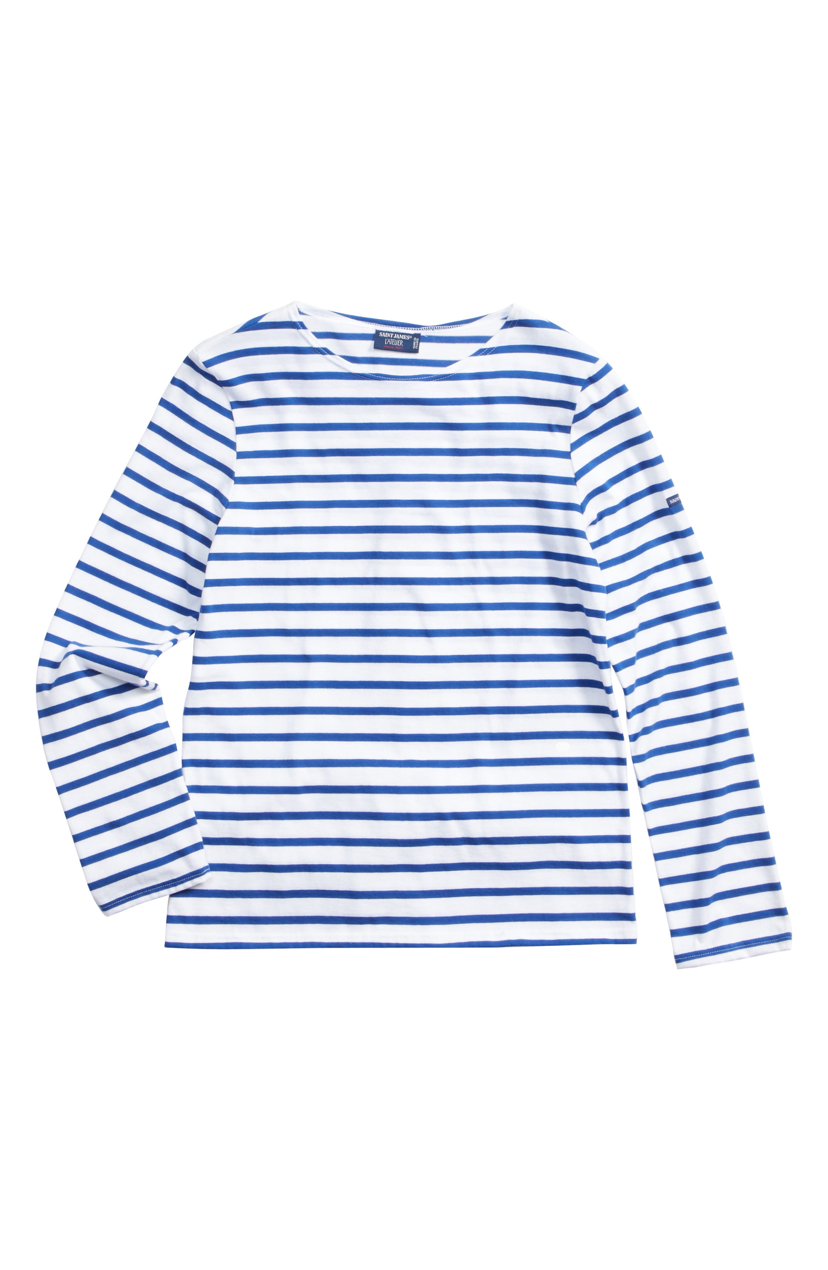 Saint James Minquiers Moderne Striped Sailor Shirt (Unisex)
