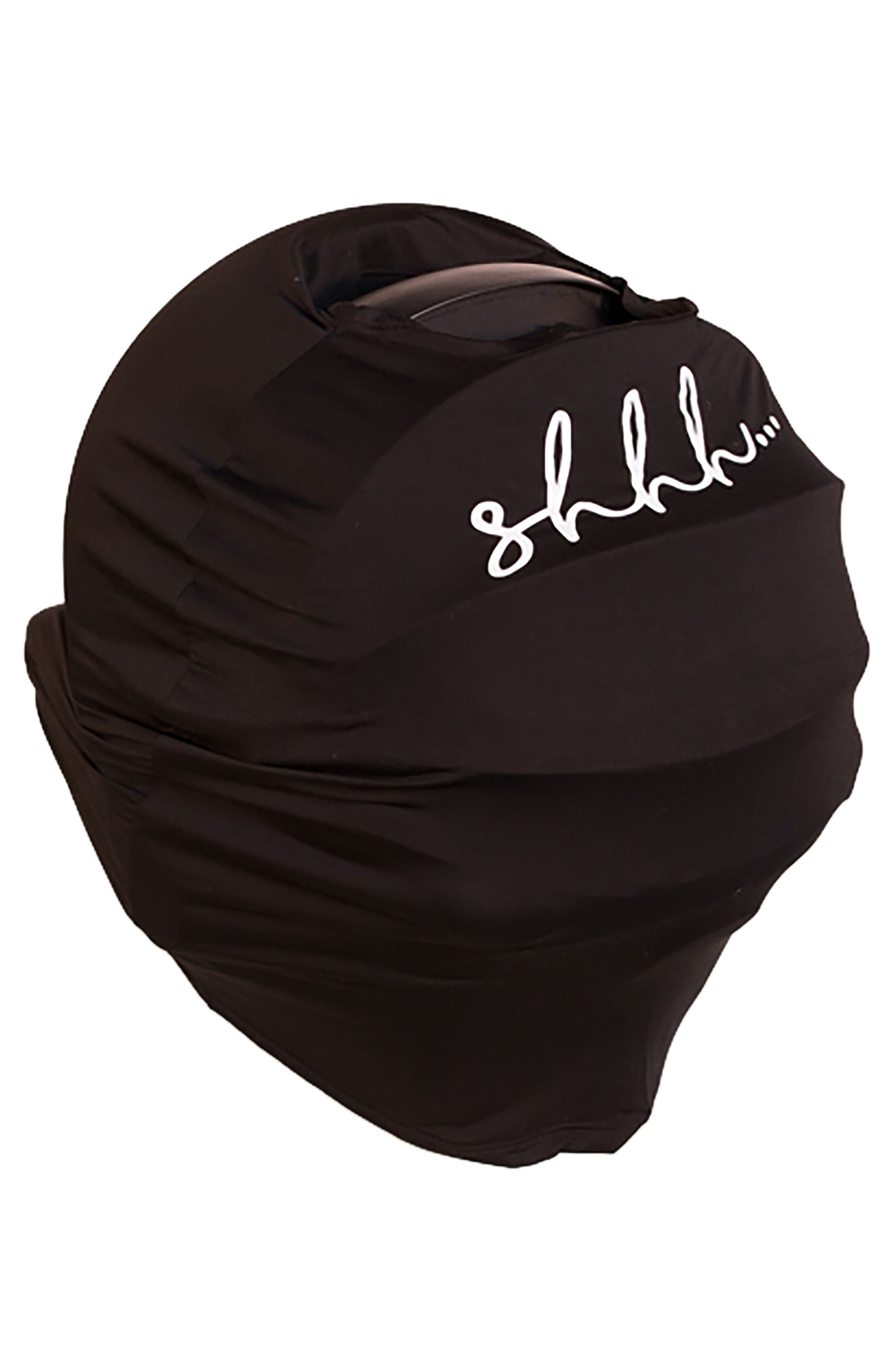 5-in-1 Car Seat Cover,                             Alternate thumbnail 2, color,                             Black Lashes